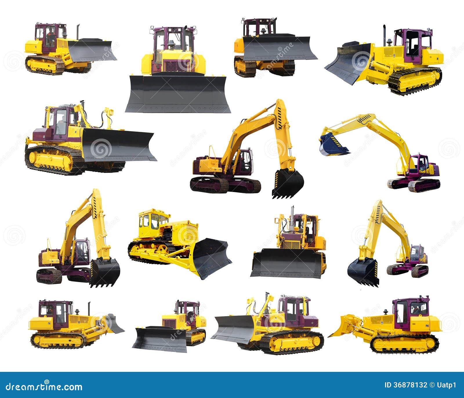 Download L'immagine Della Macchina Agricola Fotografia Stock - Immagine di escavatore, macchina: 36878132