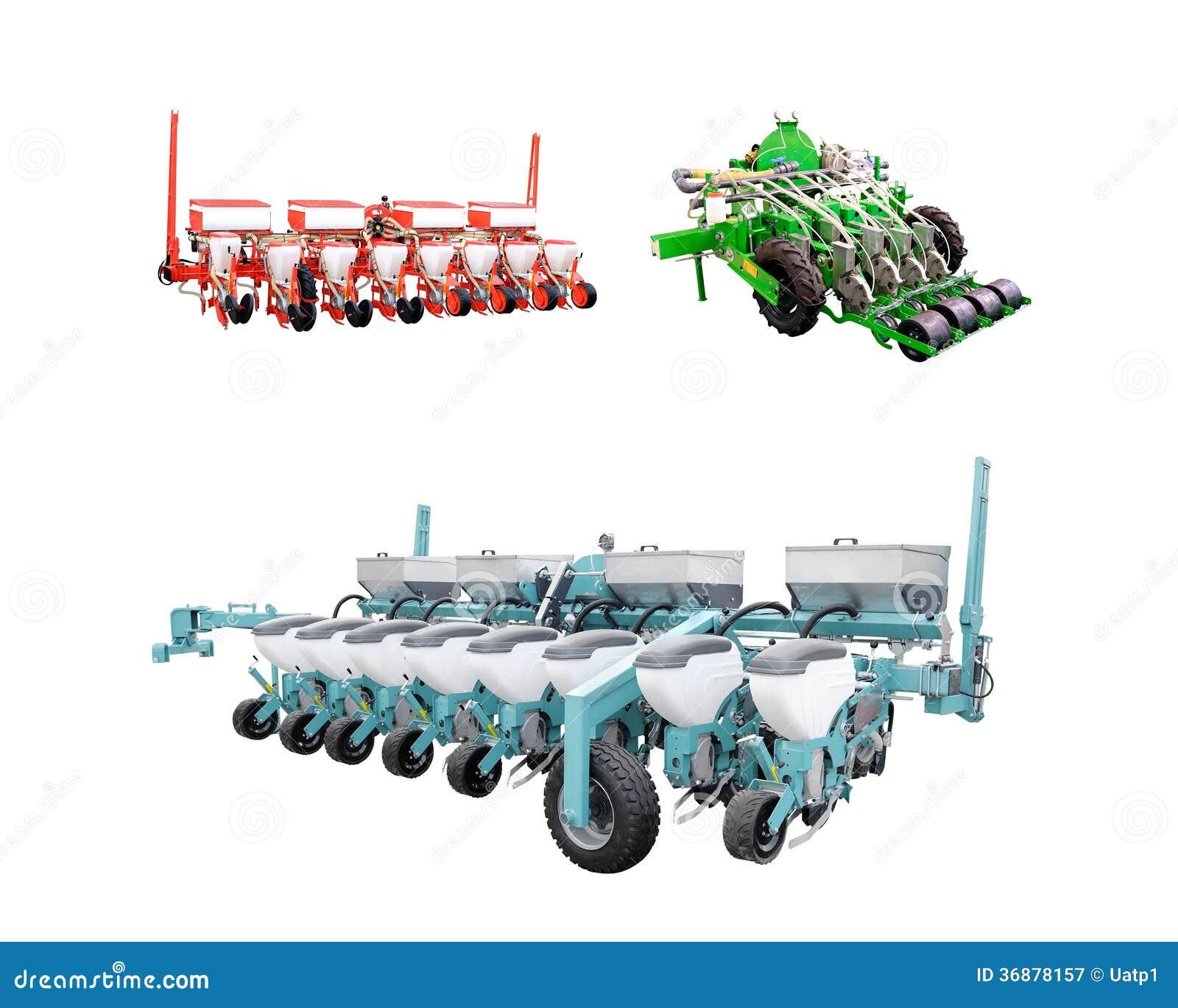 Download L'immagine Della Macchina Agricola Immagine Stock - Immagine di sowing, strumenti: 36878157