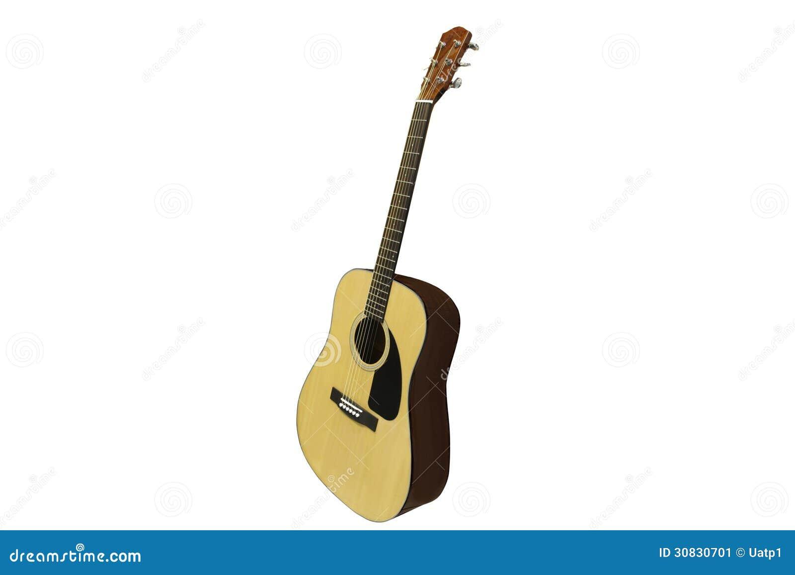 L immagine di una chitarra