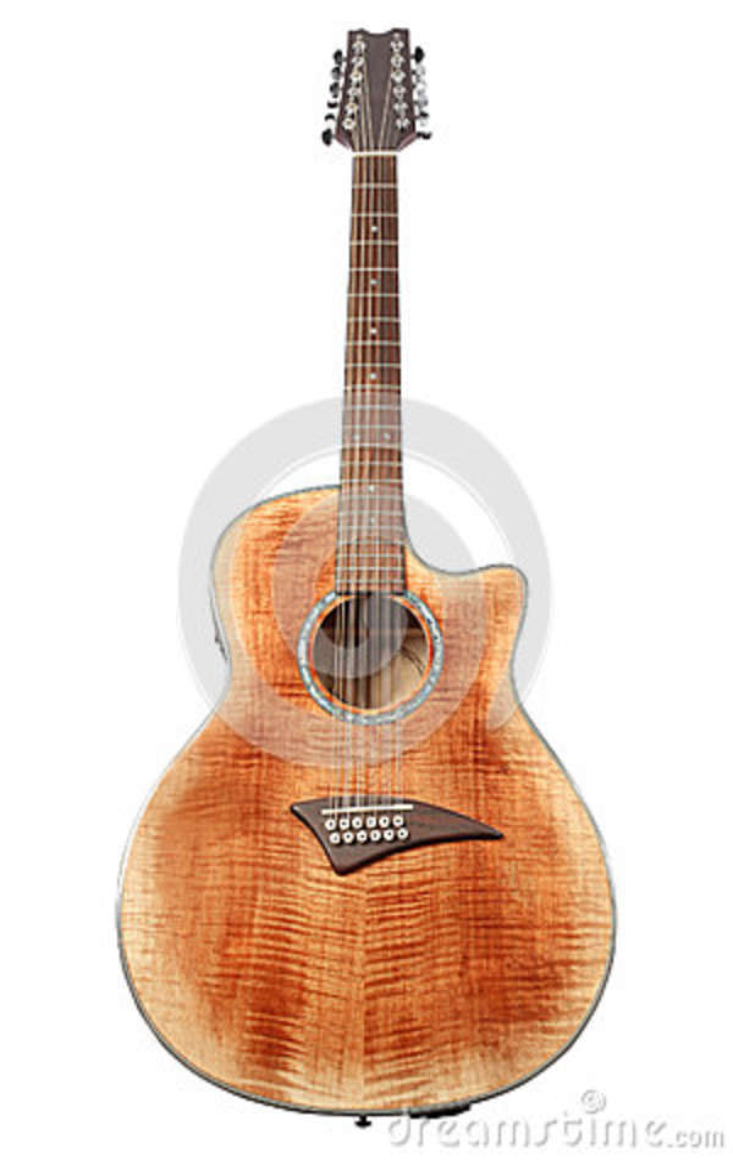 Download L'immagine di una chitarra fotografia stock. Immagine di eleganza - 36877924
