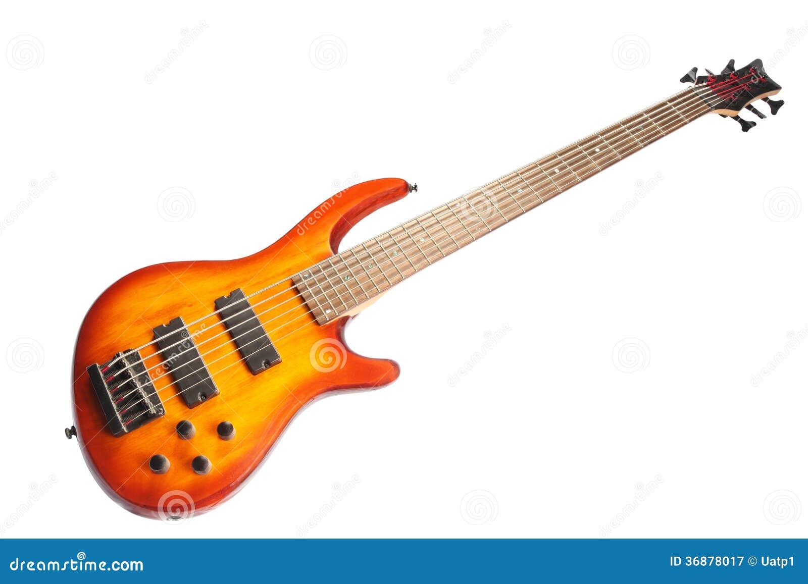 Download L'immagine di una chitarra immagine stock. Immagine di riga - 36878017