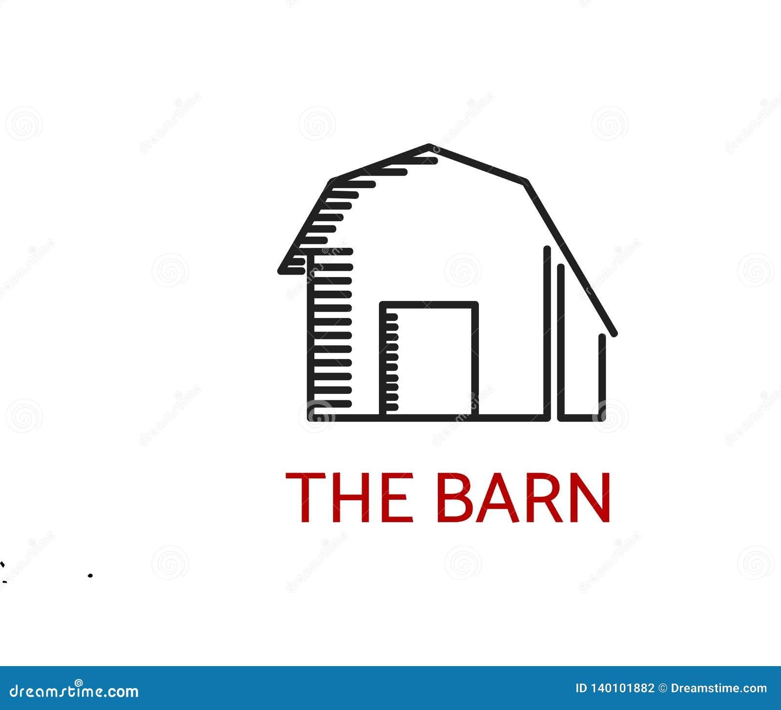 L immagine semplice di logo del granaio