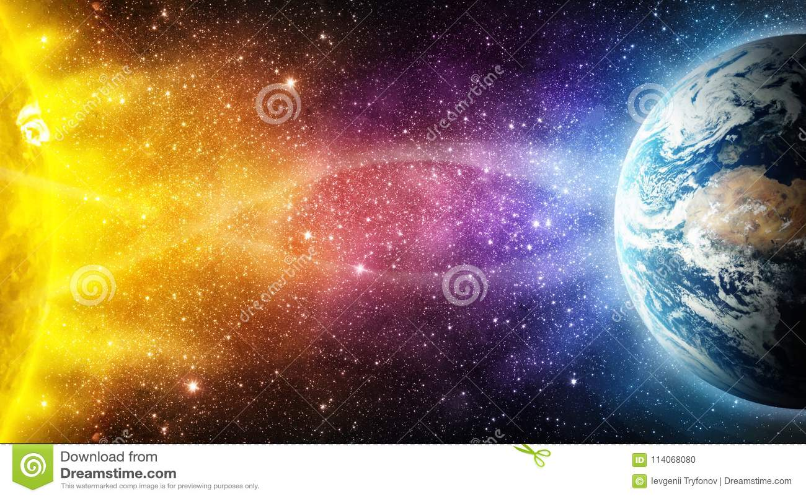 L influence du soleil sur le chauffage Terre-global de planète, magnétique