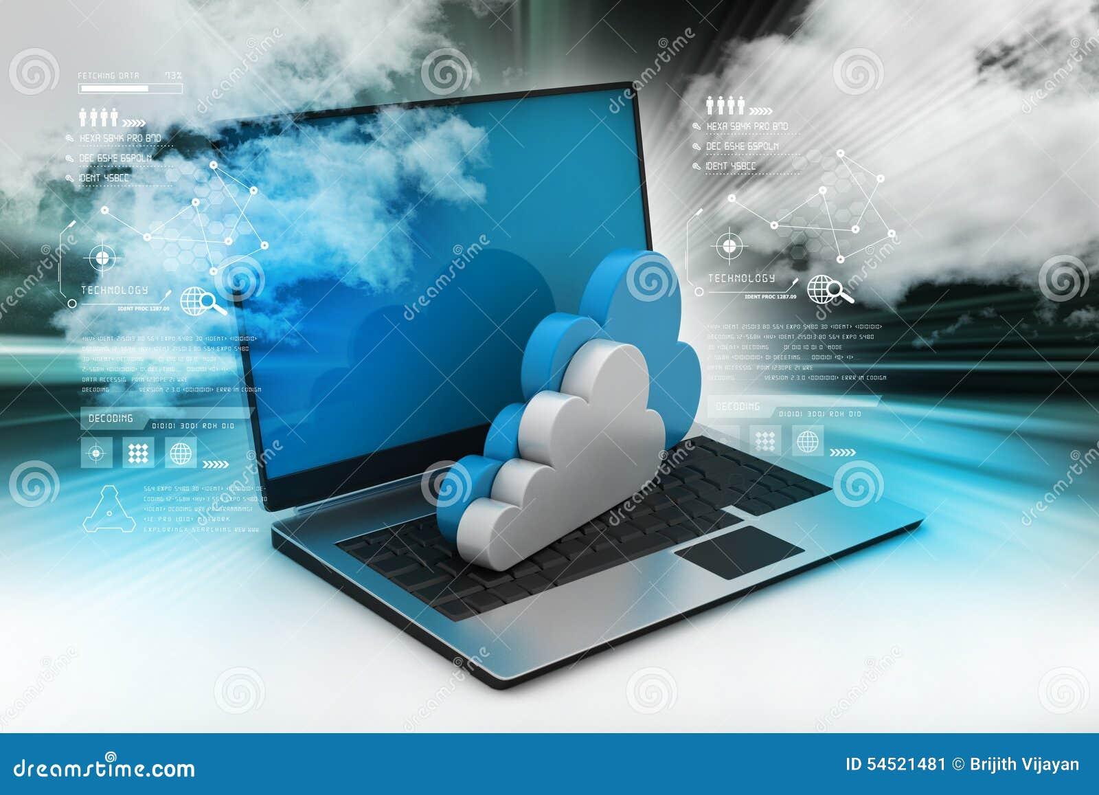 L information de transfert à un serveur de réseau de nuage