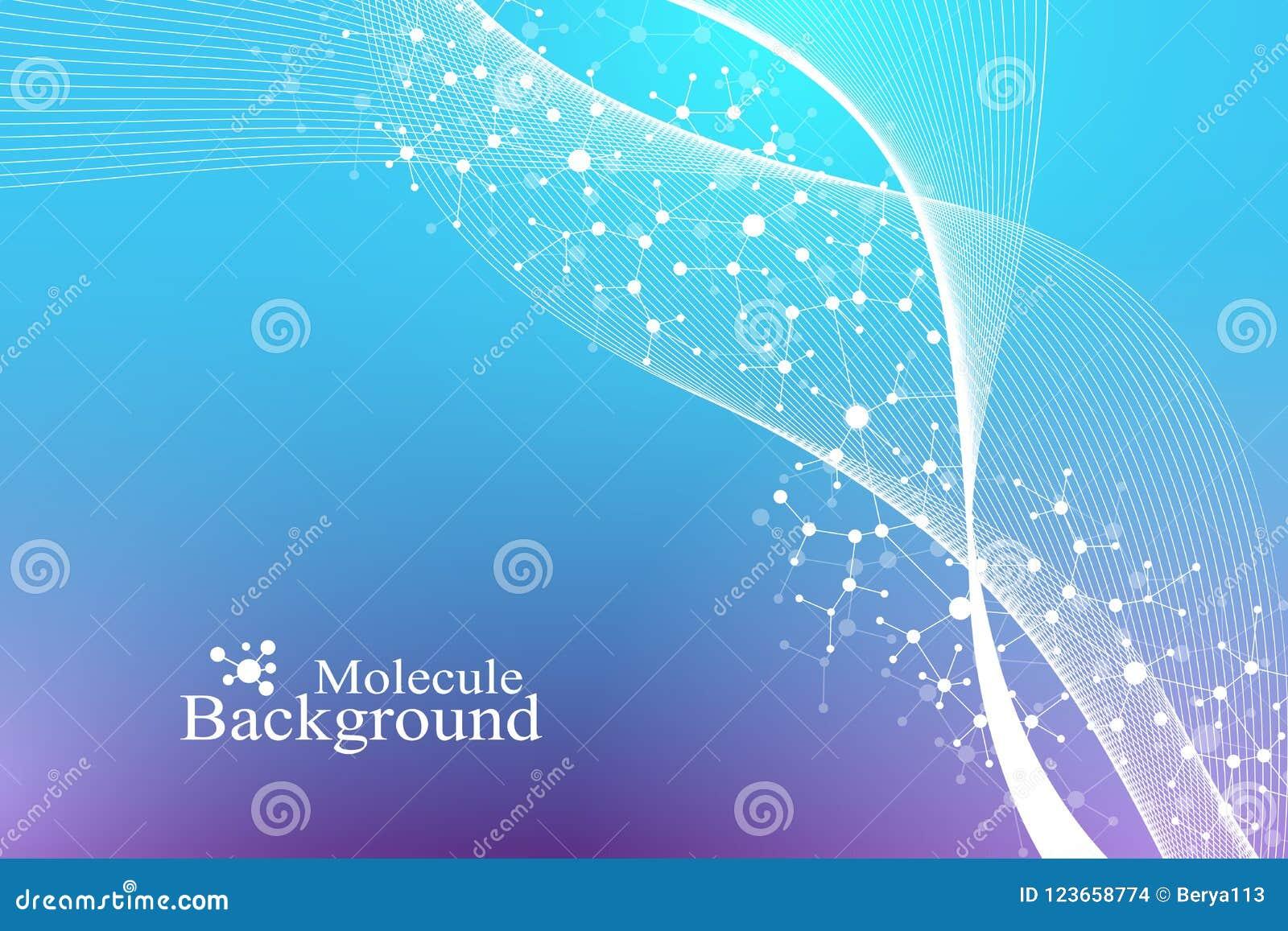 L ingegneria e la manipolazione genetiche del gene vector il concetto dell illustrazione Elica del DNA, filo del DNA, molecola o