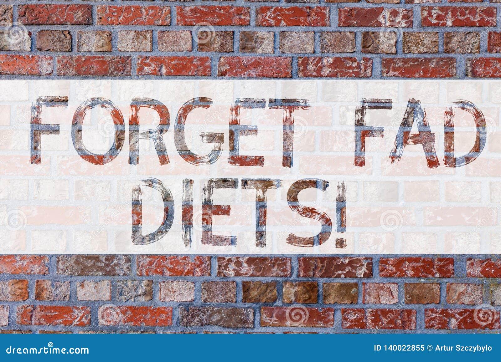 L inscription des textes d écriture oublient des régimes de manie Concept signifiant la réduction de calorie de livres de baisse