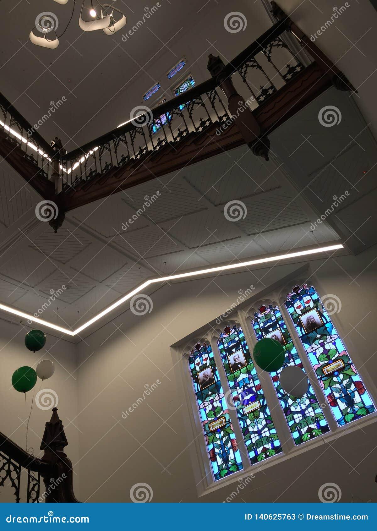 L intérieur de l université en Australie