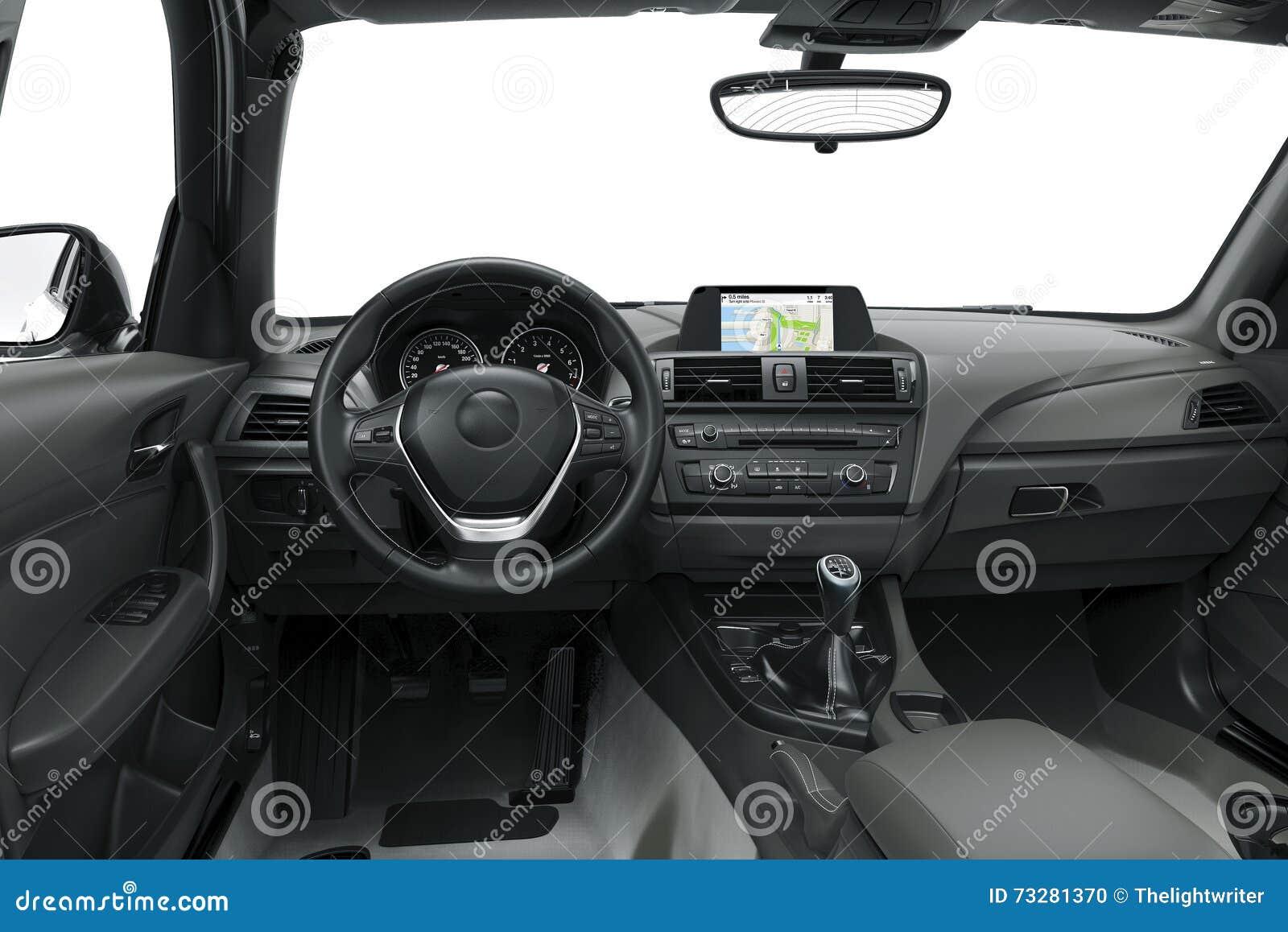 L 39 int rieur ou l 39 int rieur d 39 une voiture moderne for Interieur d une voiture