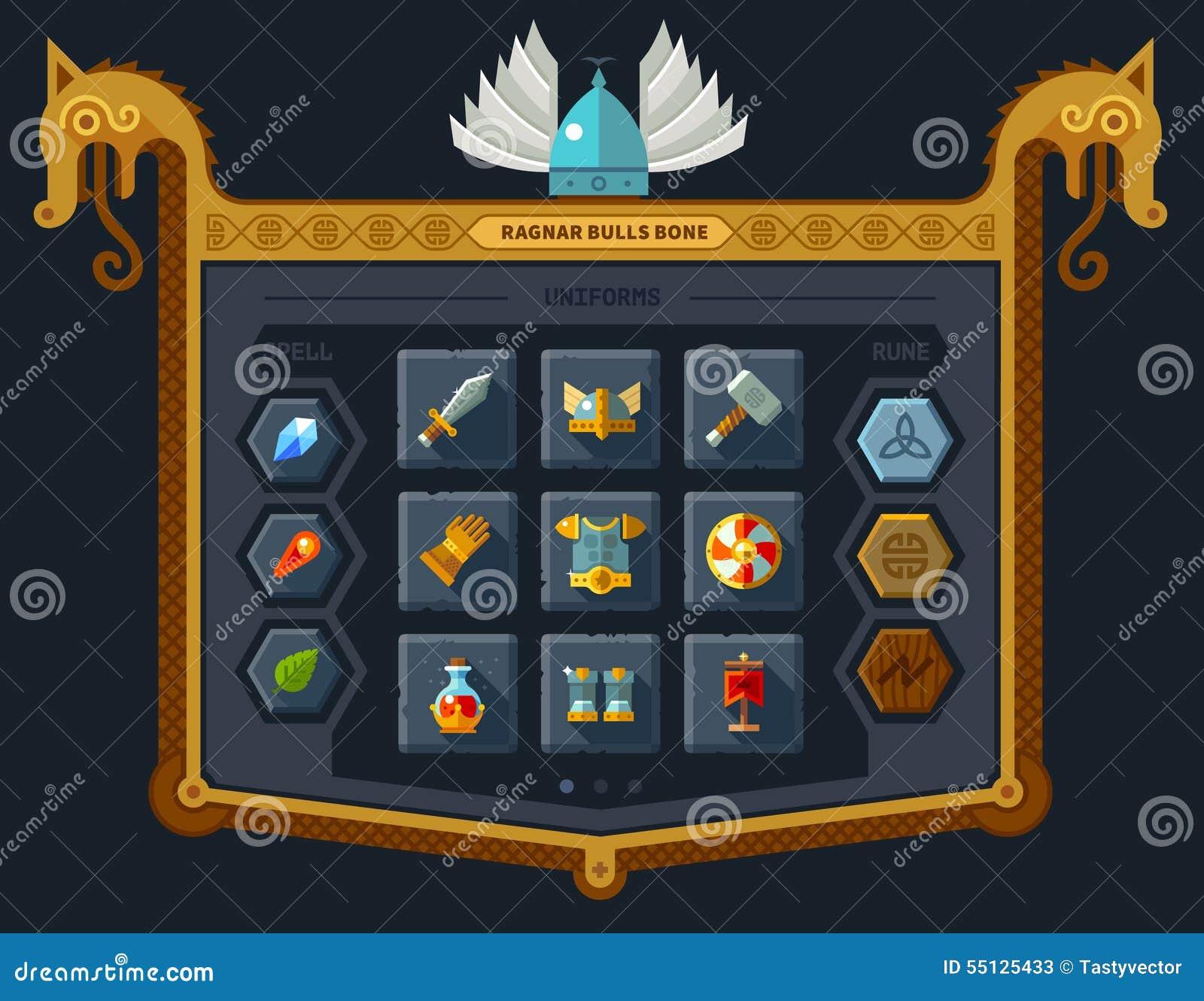 L interface utilisateurs pour le jeu