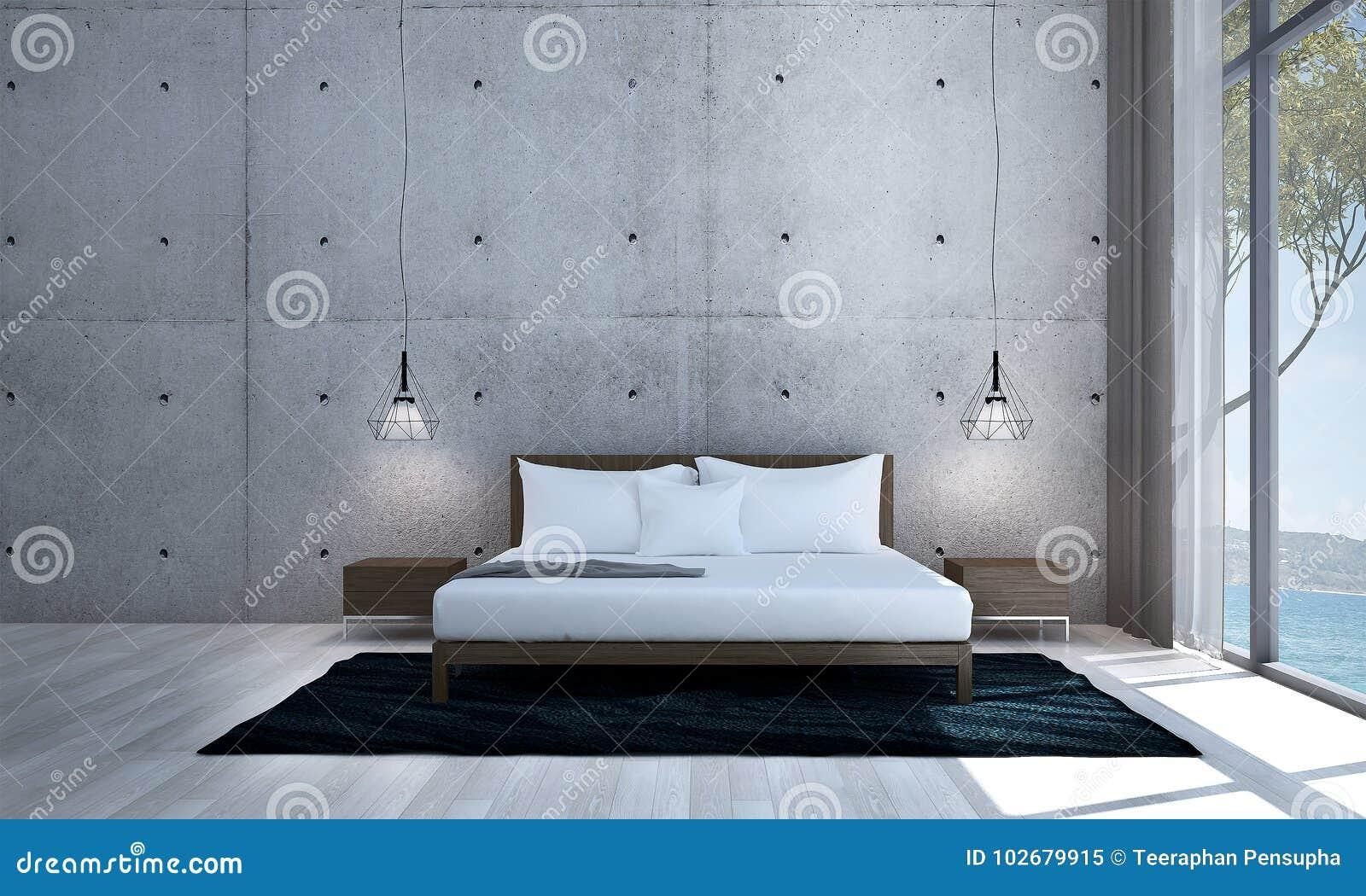 Free l interior design della camera da letto di minimi ed - Tappeti per sala da pranzo ...