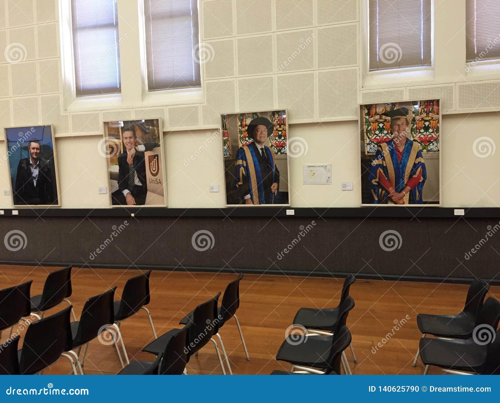 L interno dell università in Australia