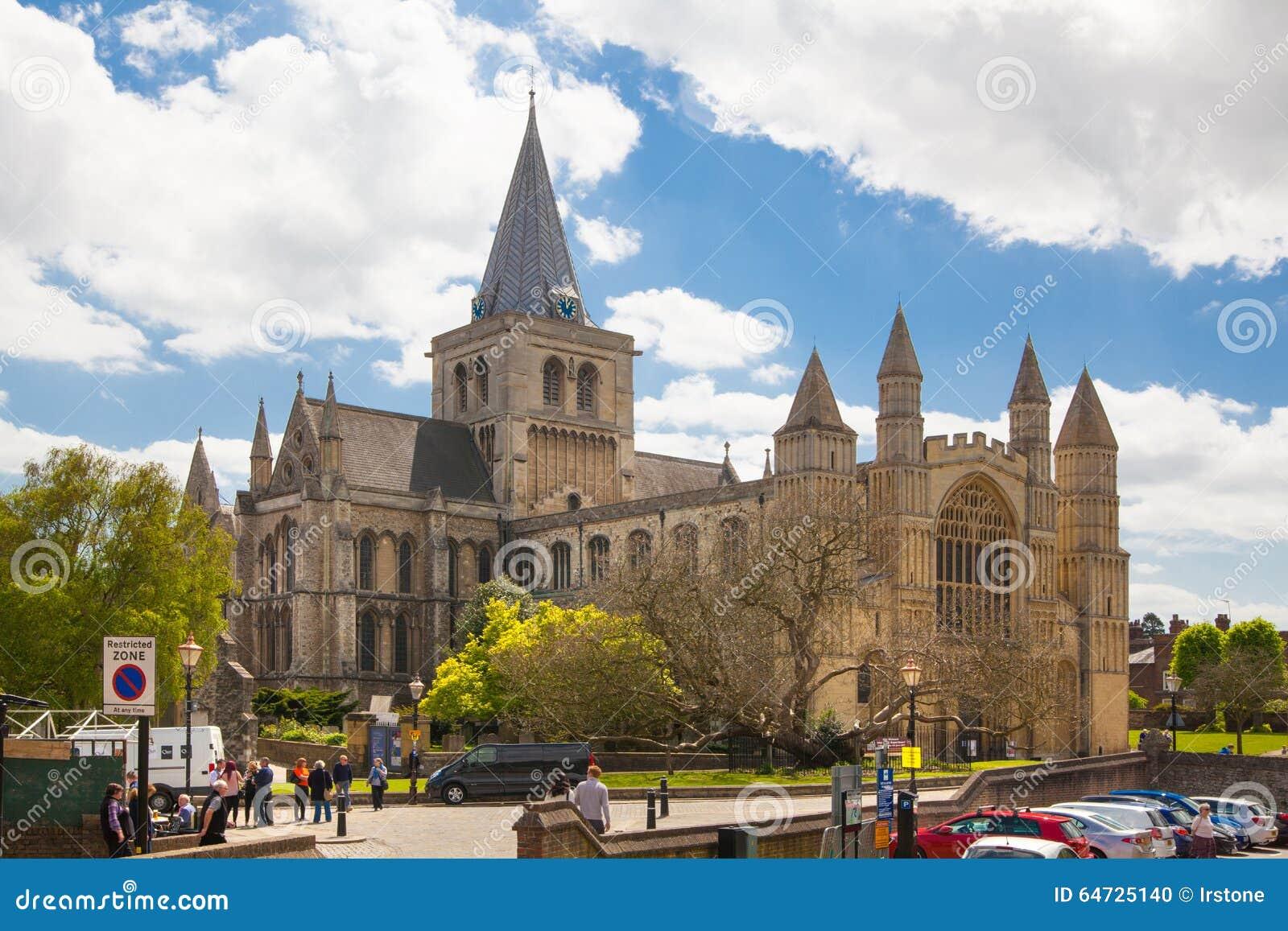 L interno della cattedrale di Rochester è l Inghilterra in secondo luogo più vecchia, essendo fondando in 604AD