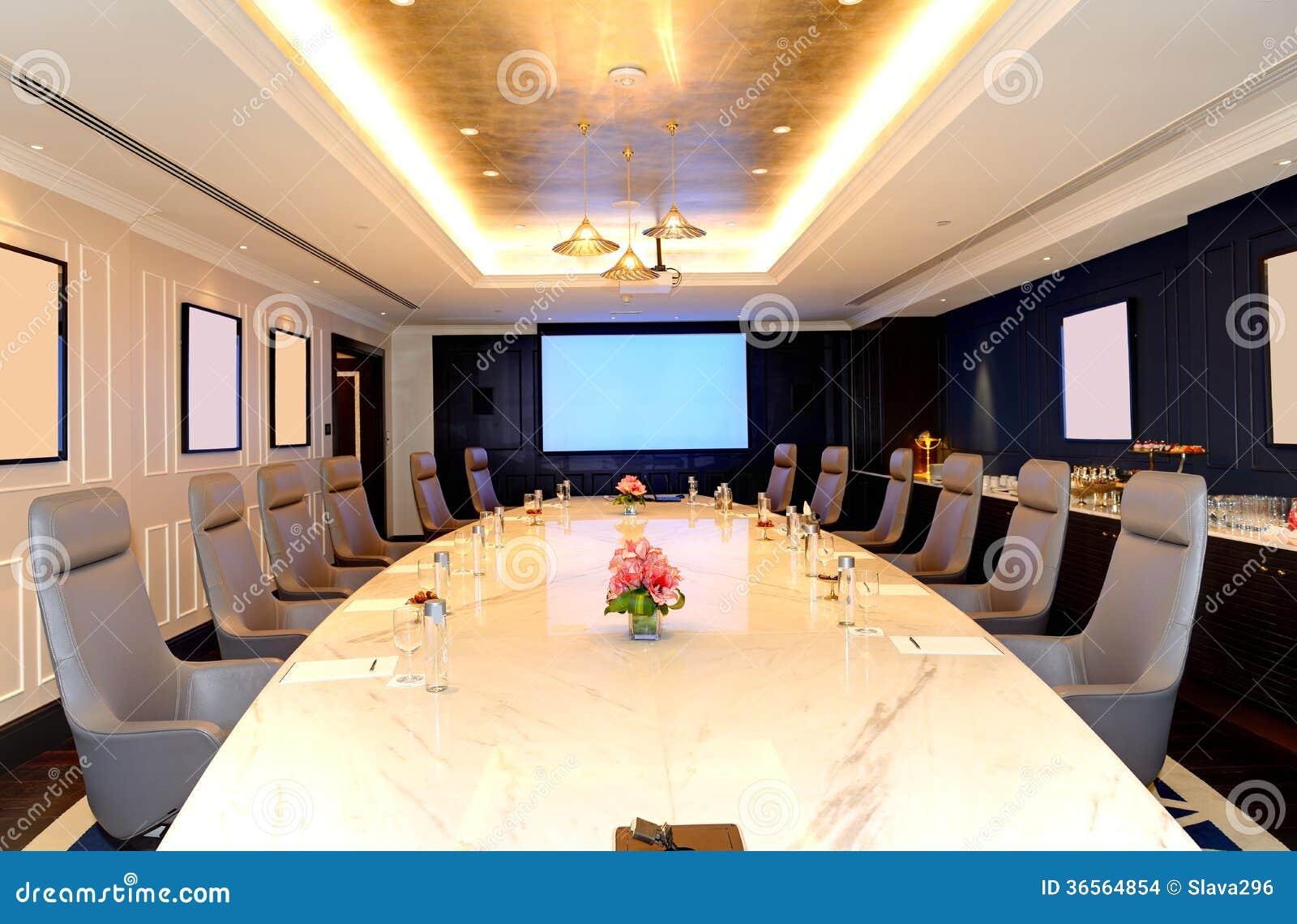 Hotel Di Lusso Interni : Linterno della sala riunioni allalbergo di lusso immagine stock