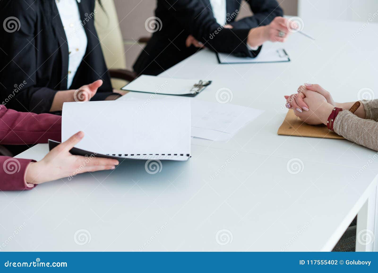 L intervista del richiedente impiega la carriera corporativa del lavoro