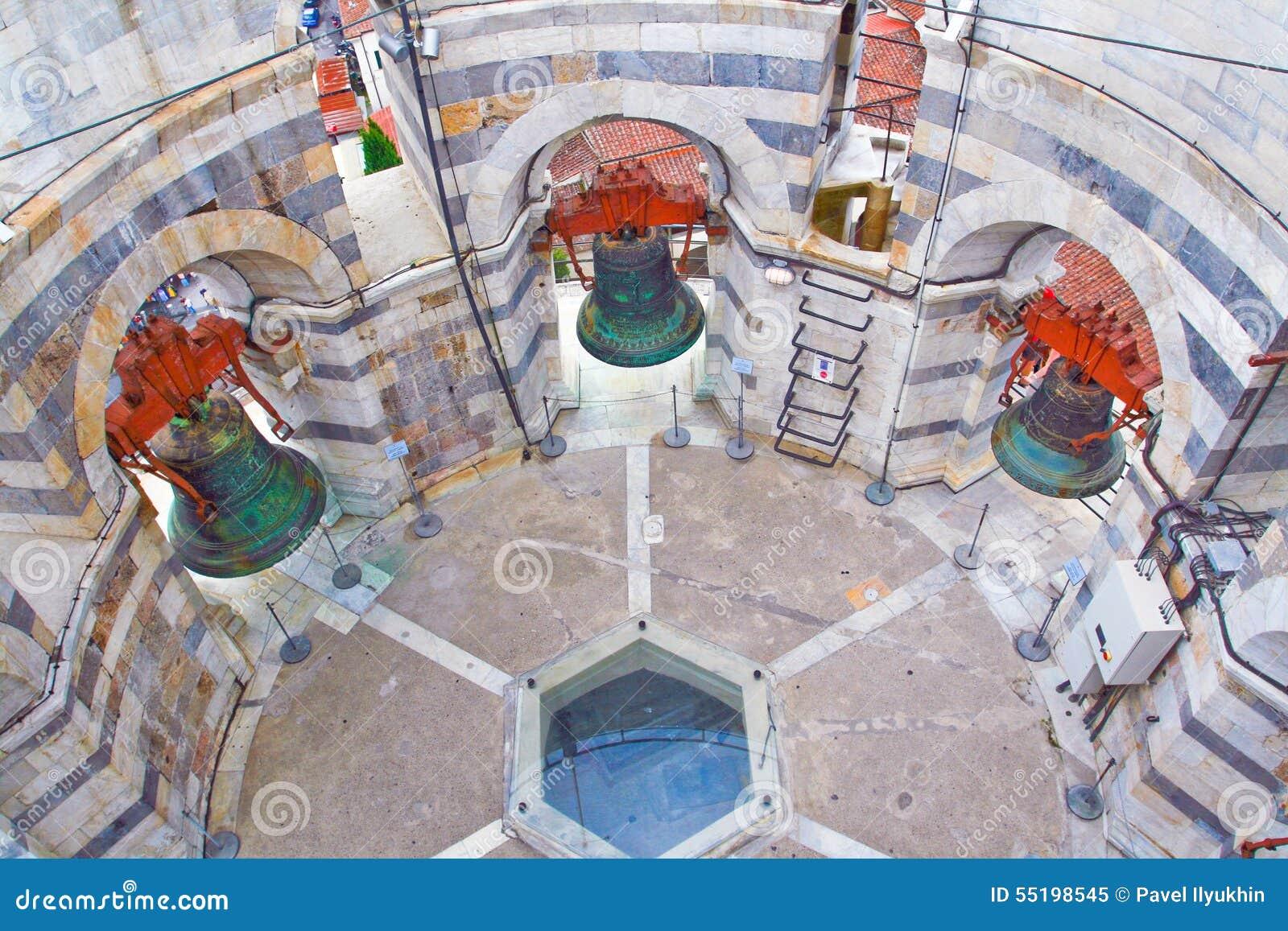 L 39 int rieur de la tour pench e de pise photo stock image 55198545 - Tour de pise interieur ...