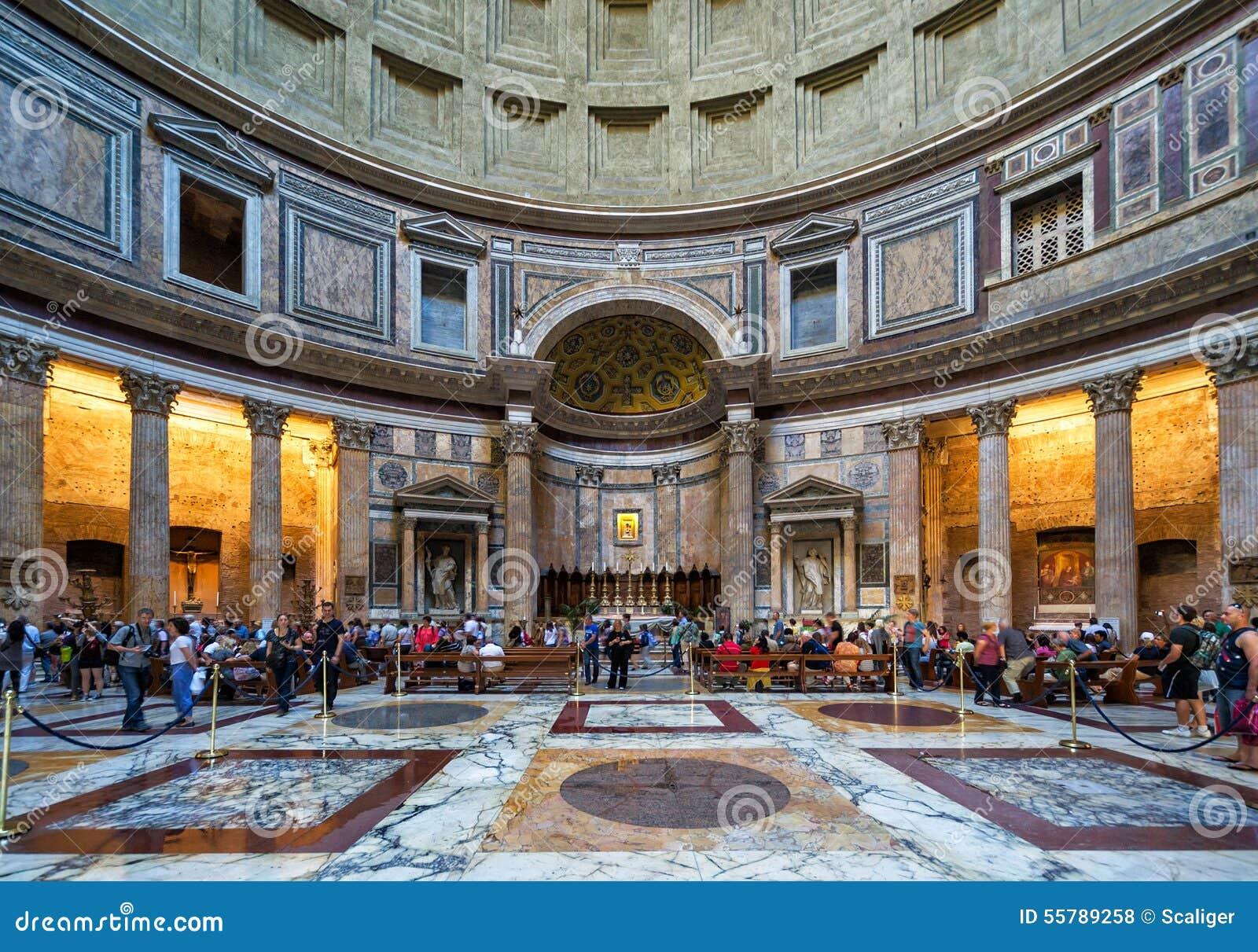 L 39 int rieur du panth on rome italie photo stock for Le for interieur