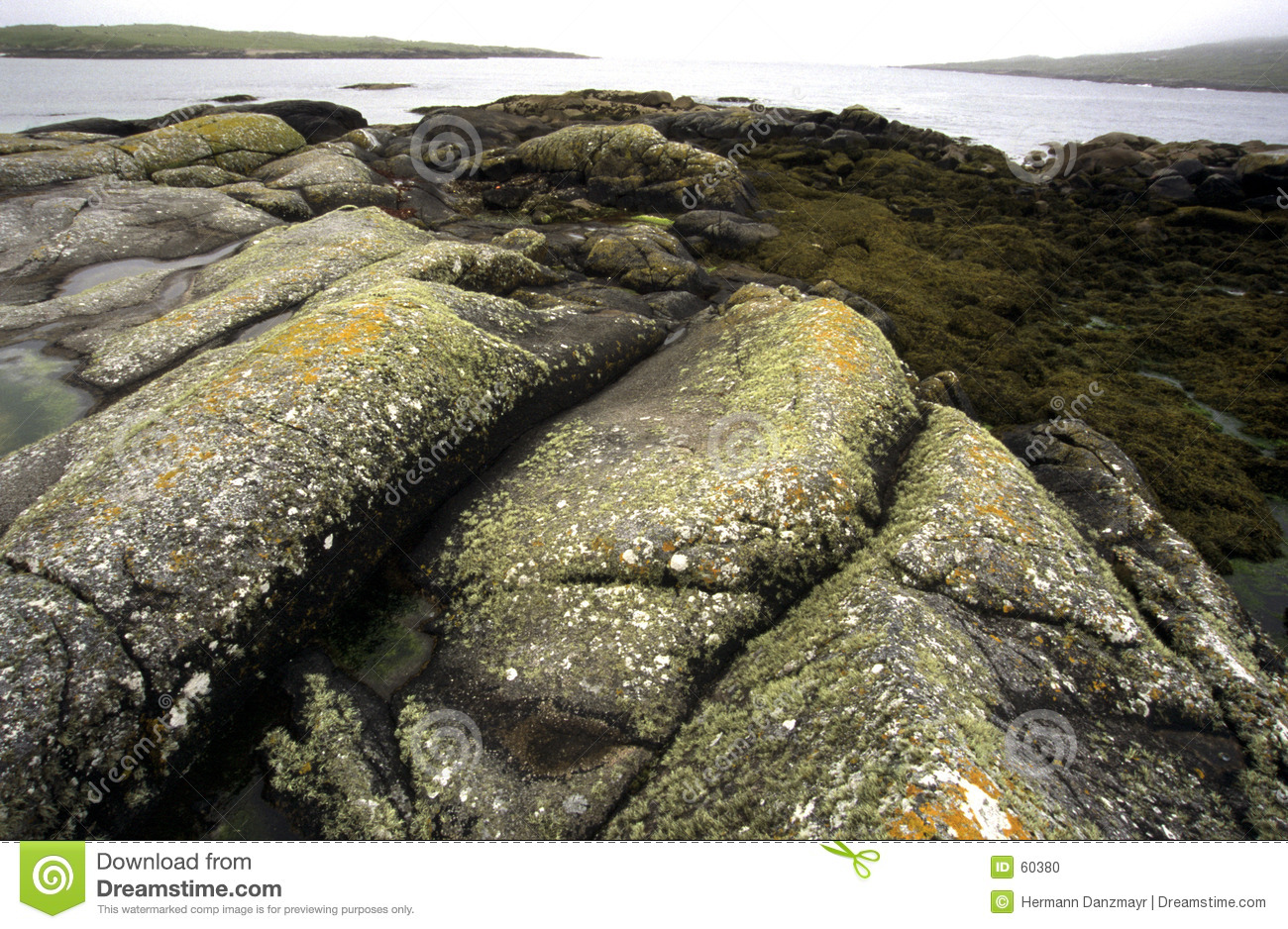Download L'Irlande photo stock. Image du roches, océan, wide, horizontal - 60380
