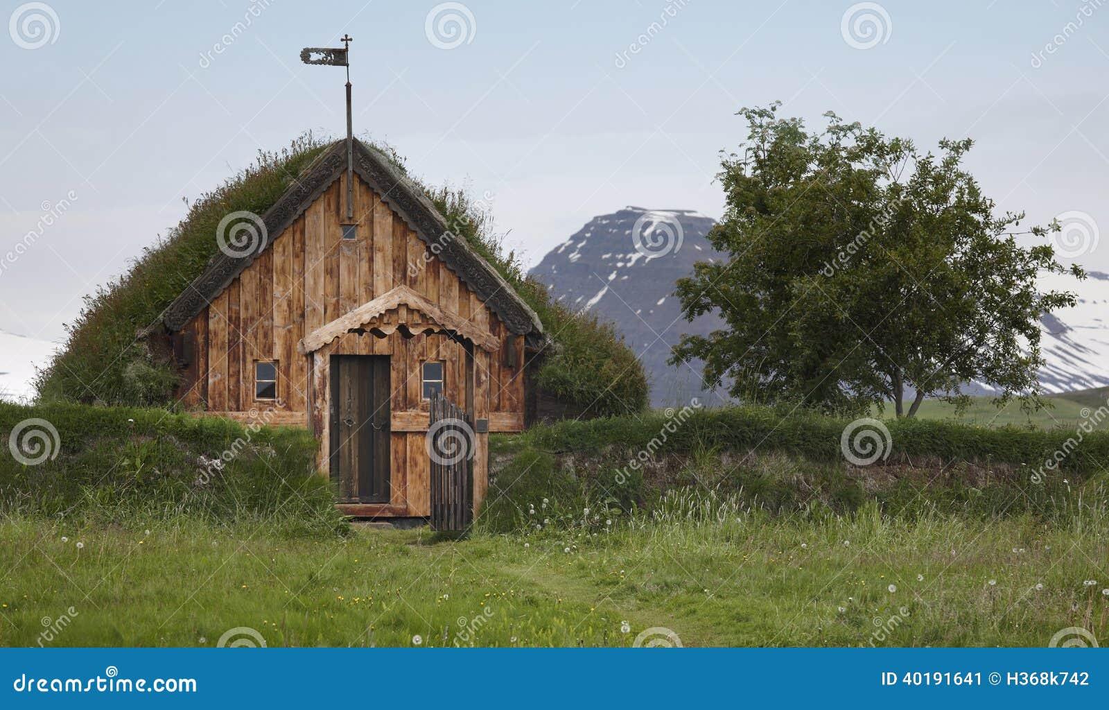 L'Islande Maison En Bois Islandaise Traditionnelle L'Islande Du Nord Image stock Image 40191641 # Maison En Bois Nord