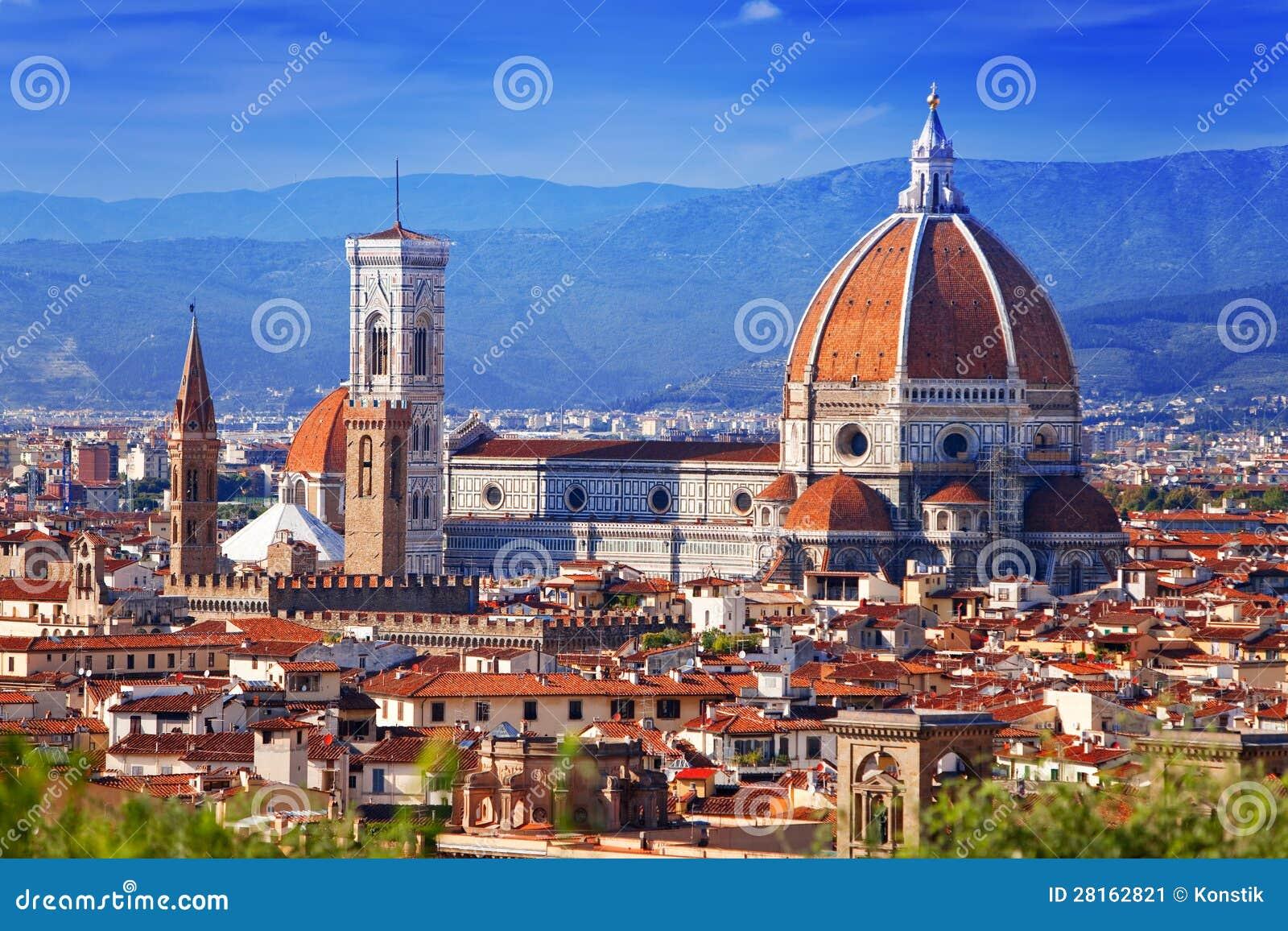 L Italie. Florence. Cathédrale Santa Maria del Fiore