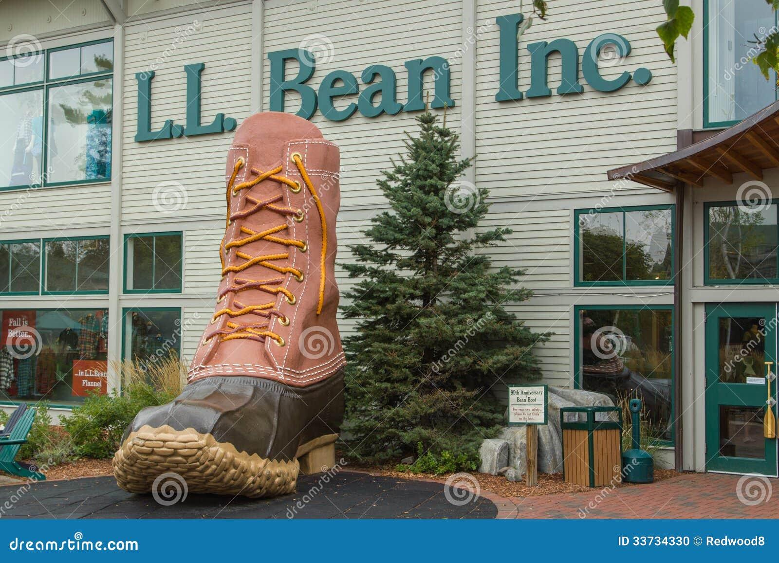 L.L. Bean Storefront