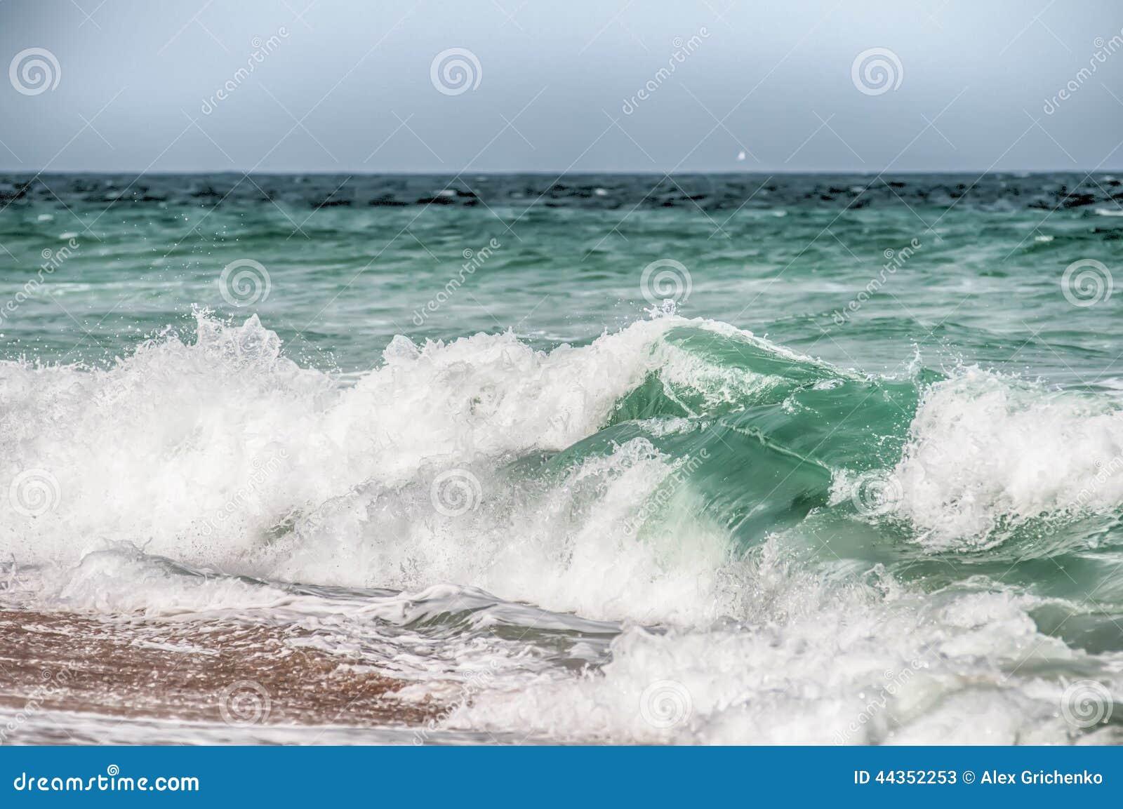 L Oceano Atlantico alla Nord Carolina di Hatteras del capo