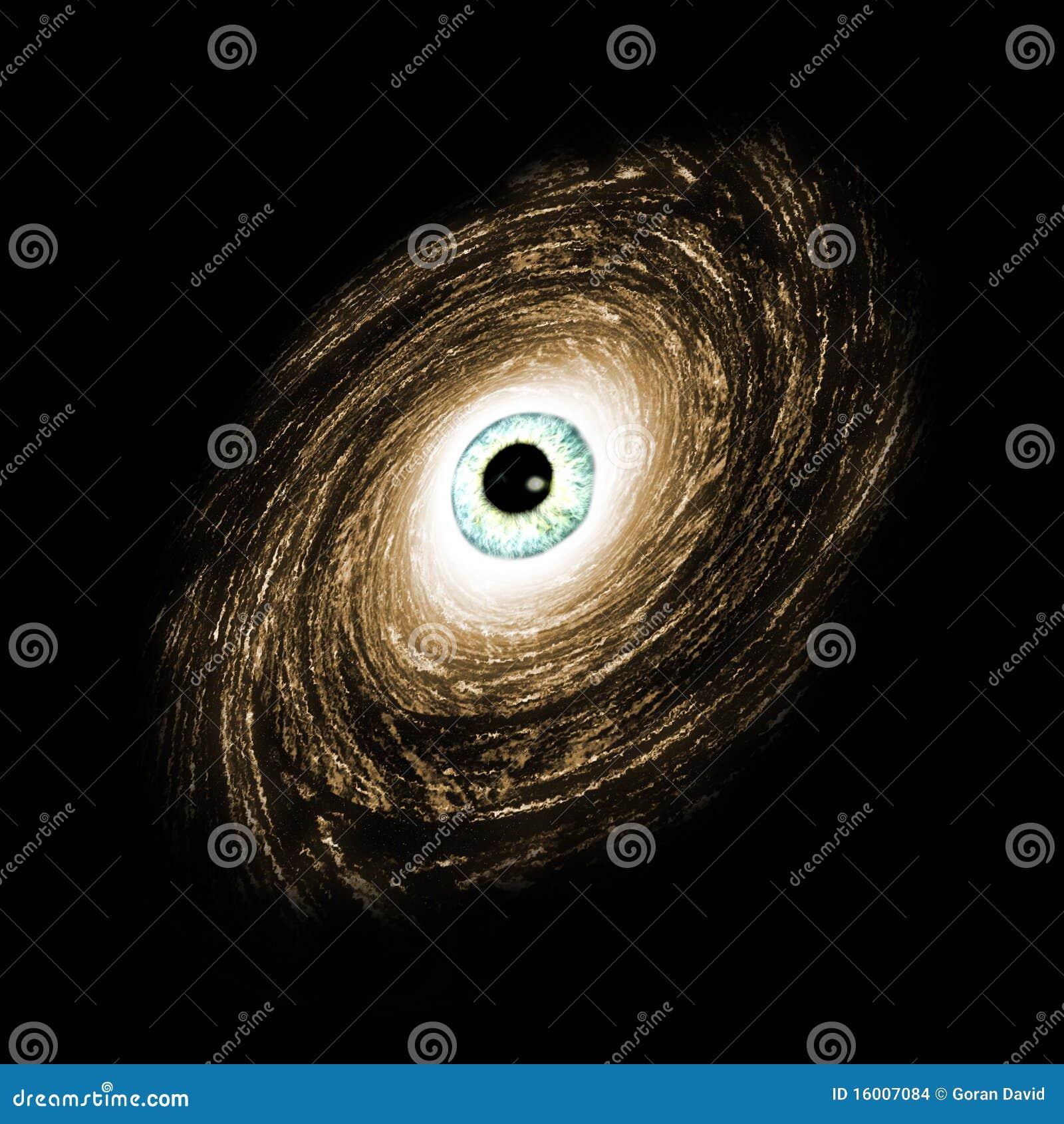 L oeil de la galaxie