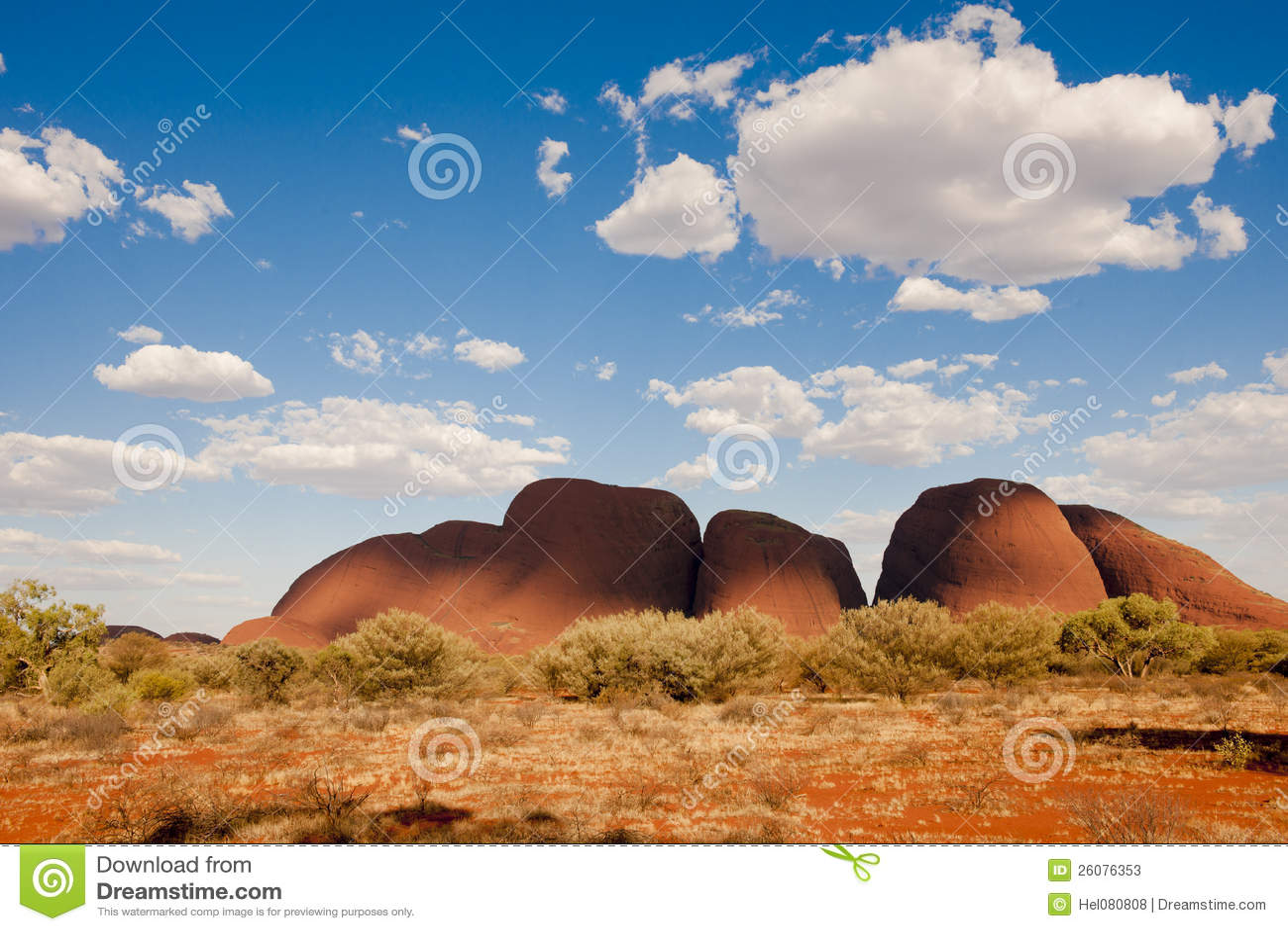 L Olgas - le Kata Tjuta - l Australie