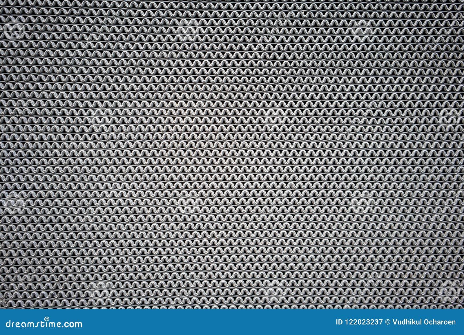 L onda grigia allinea il modello fatto di gomma per la stuoia antisdrucciolevole per testo