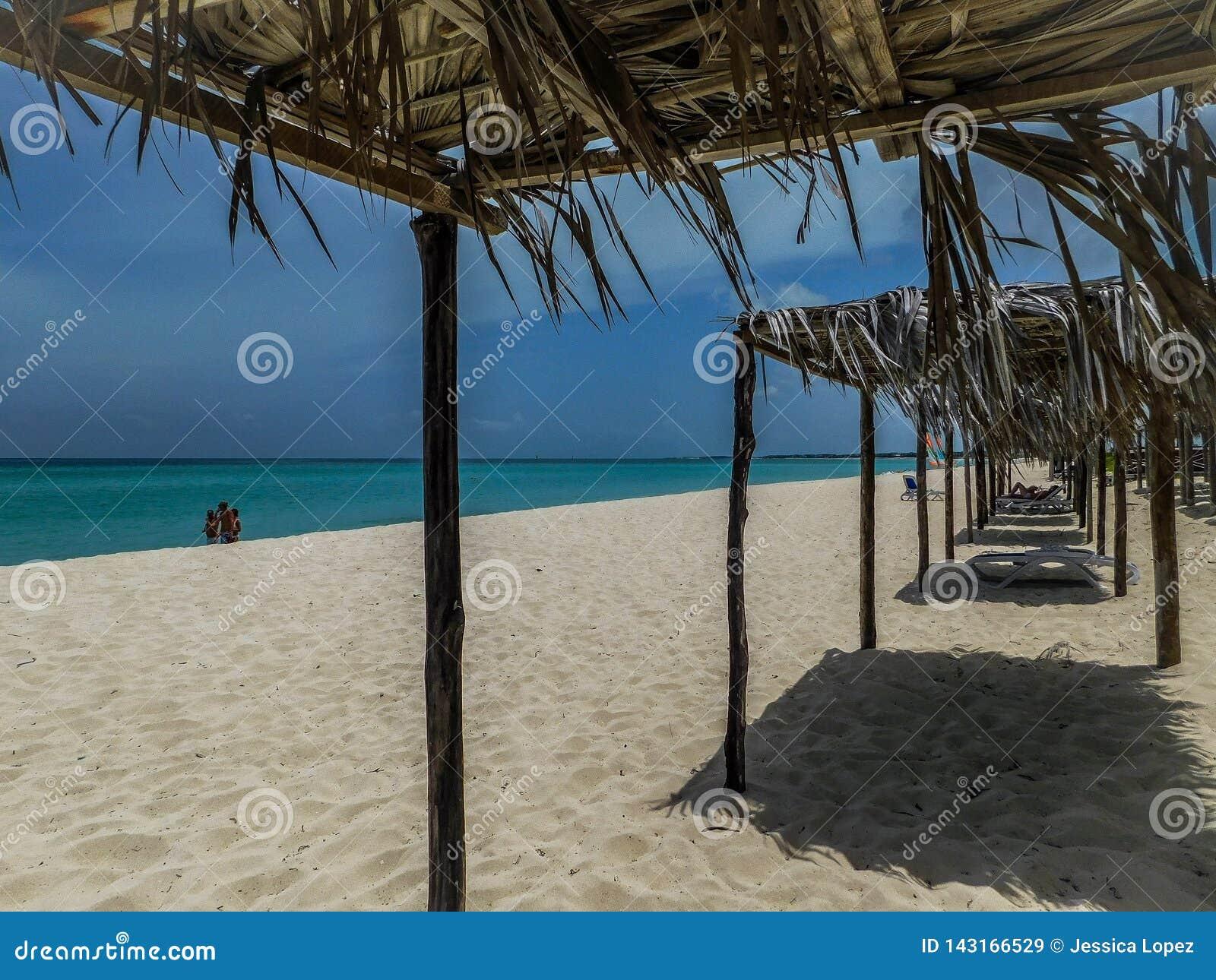 L ONU Varadero de plage au Cuba étonnant