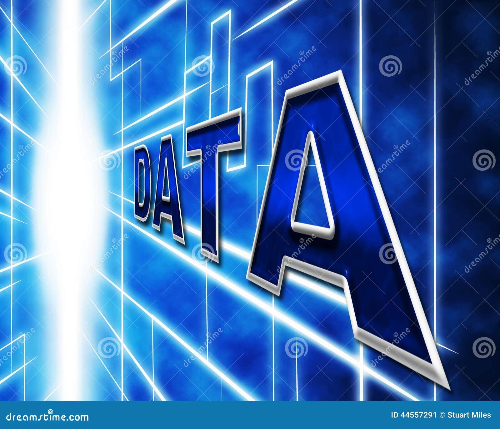 L ordinateur de données signifie Lan Network And Communicate