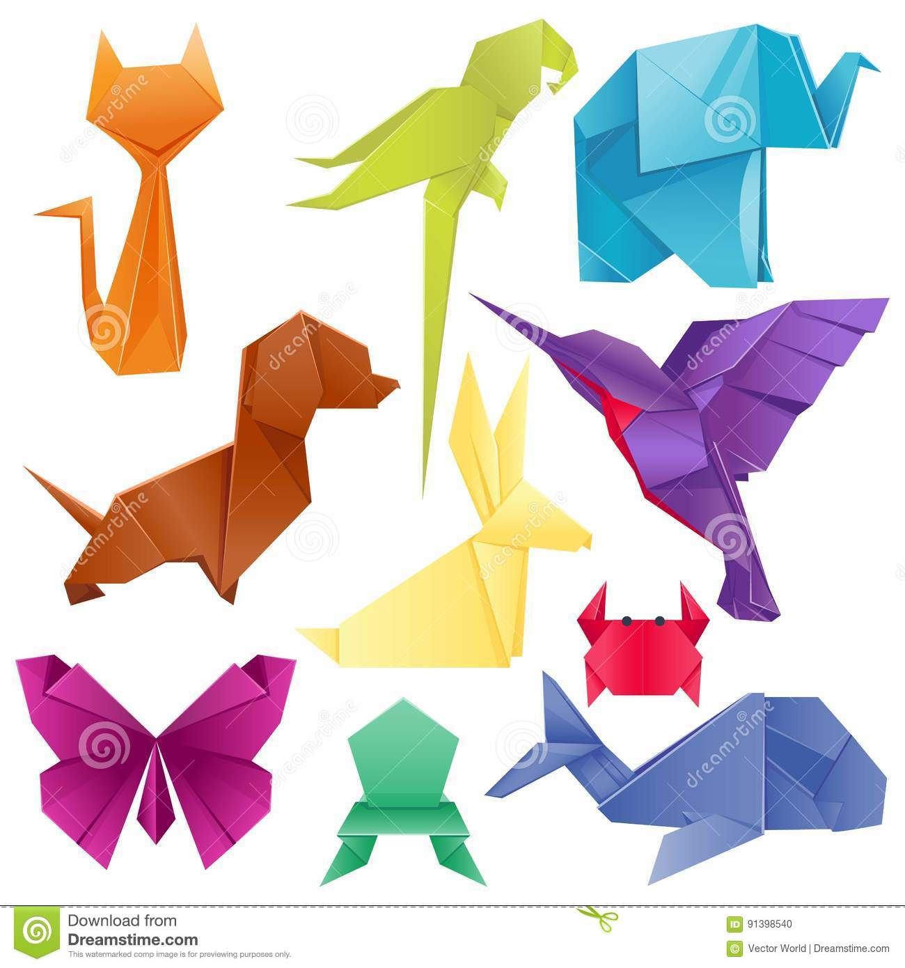 modele origami animaux origami duanimaux facile with modele origami animaux chat origami with. Black Bedroom Furniture Sets. Home Design Ideas
