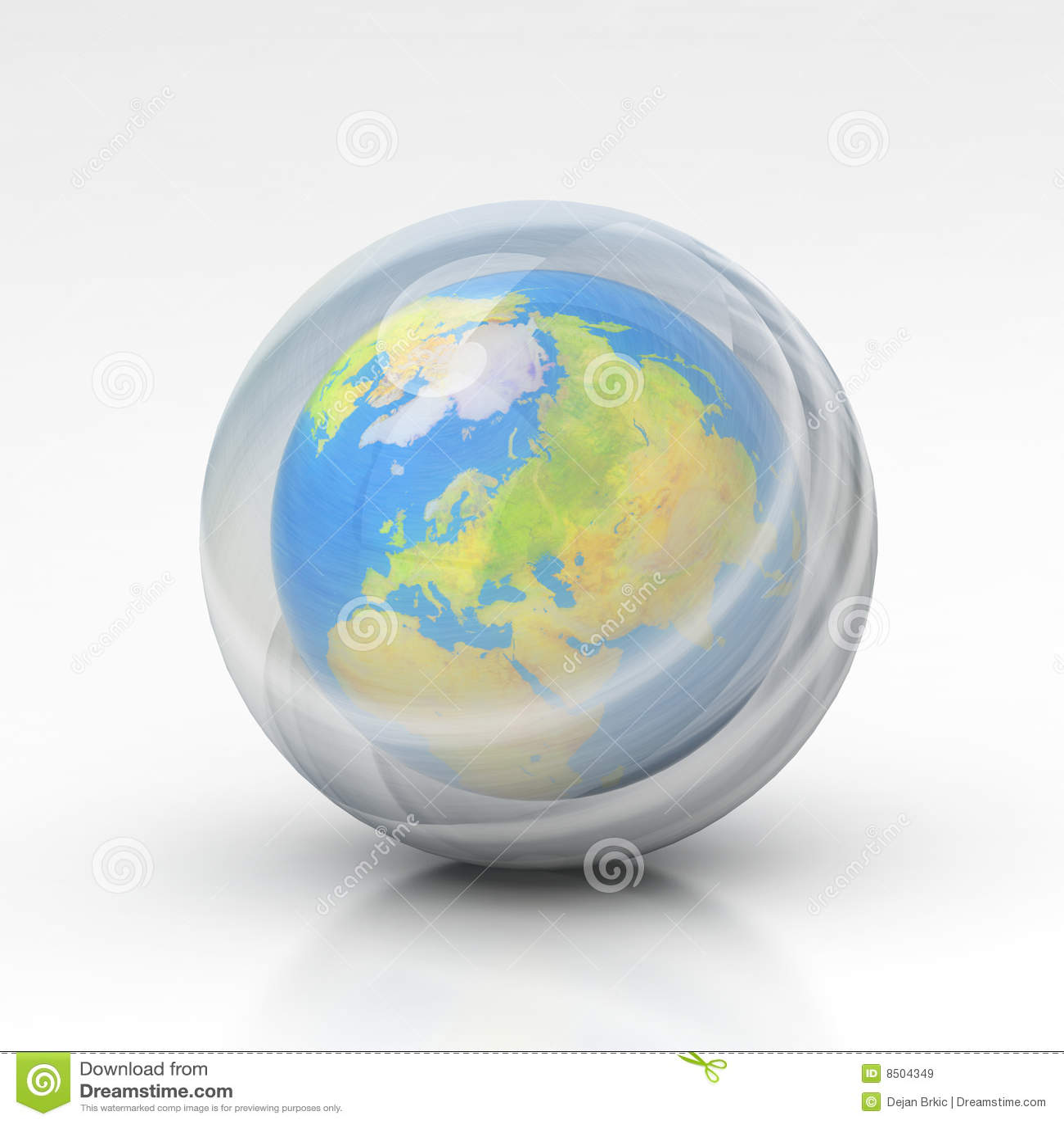 L ozone de couche de la terre