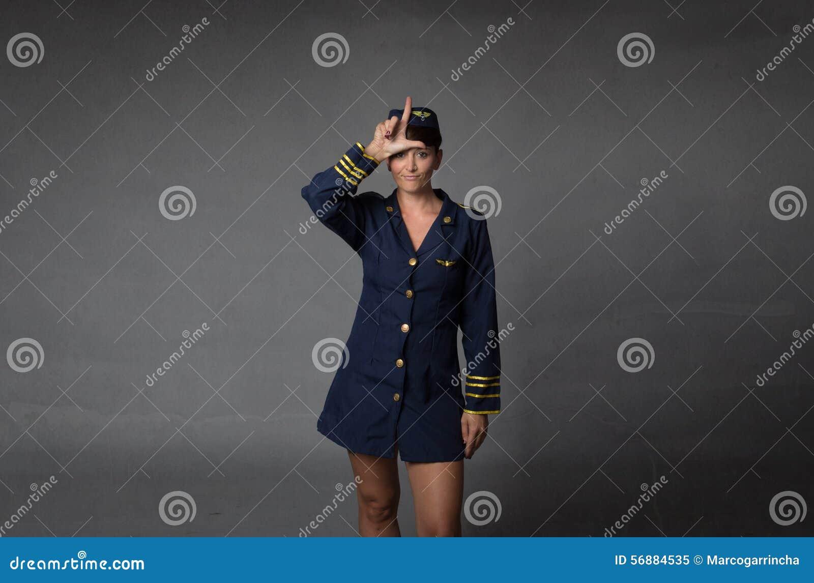 L per un assistente di volo del perdente