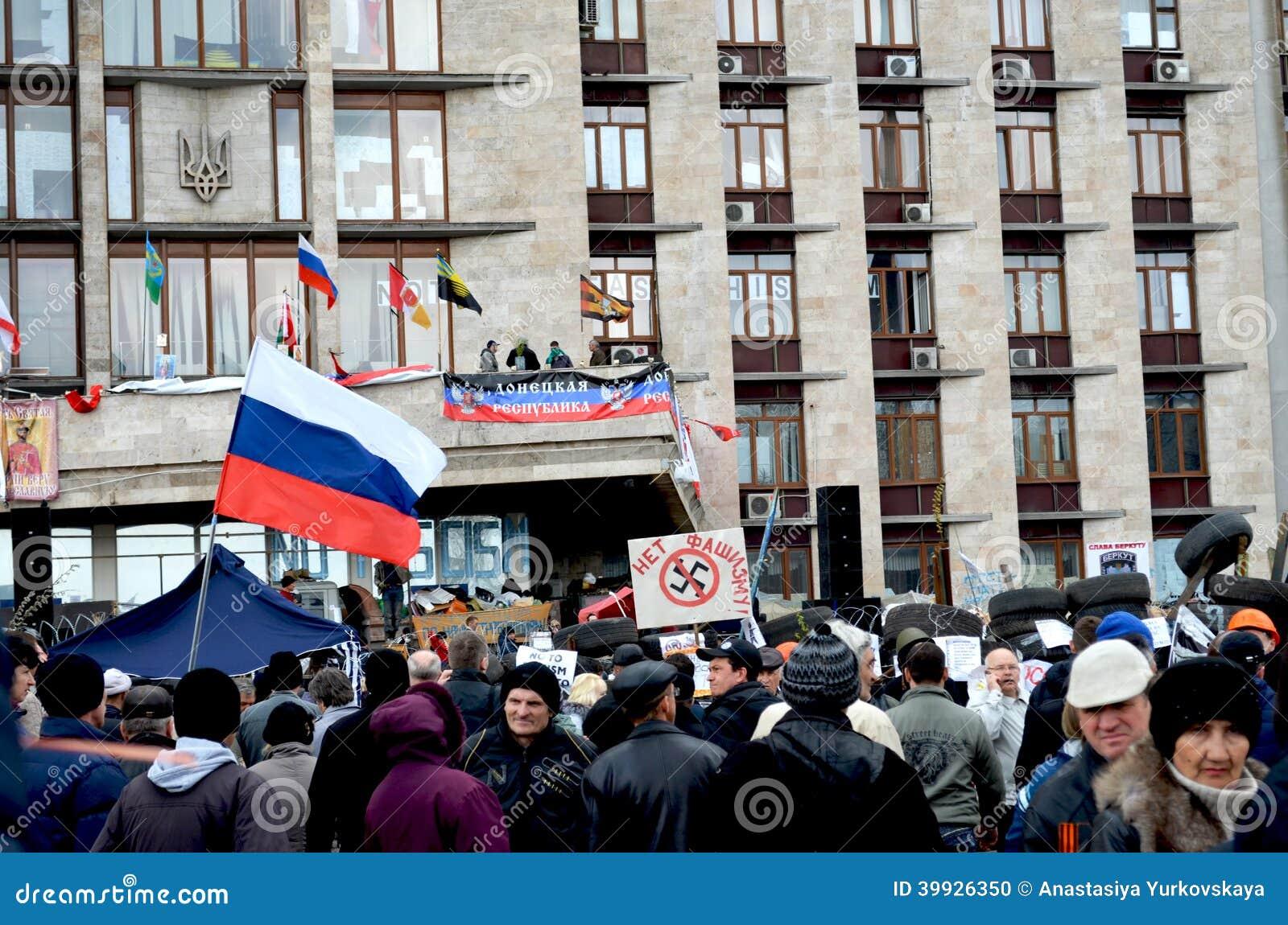 L Ukraine, Donetsk 2014