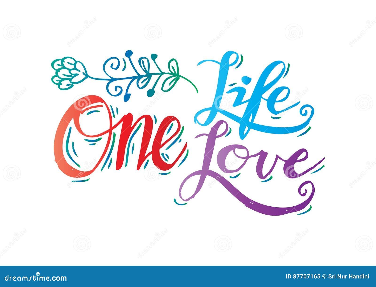 L une vie, un amour