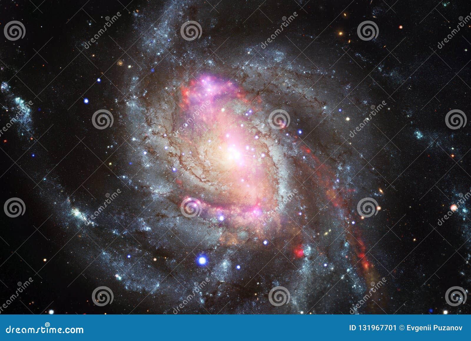 L univers a rempli étoiles, nébuleuse et galaxie Art cosmique, papier peint de la science-fiction