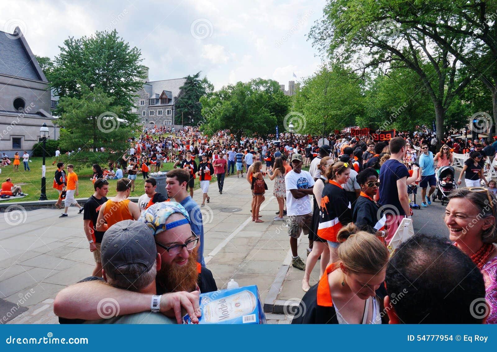 L università di Princeton P-rade 2015