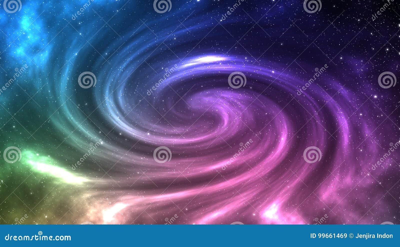 Luniverso Ha Riempito Di Stelle E Bello Della Galassia