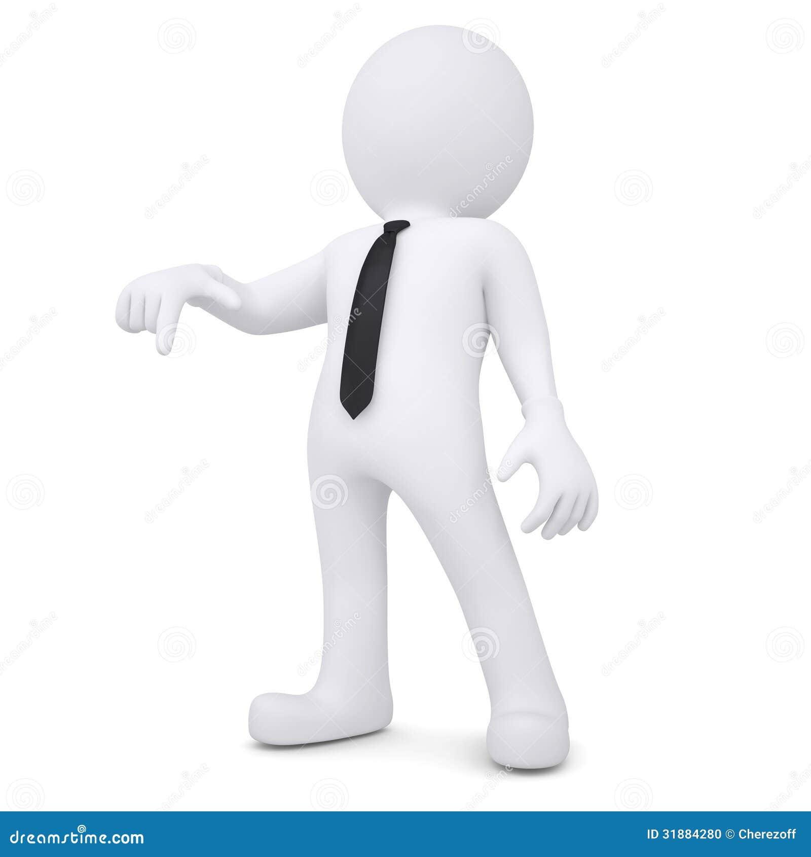 3d человечки белые