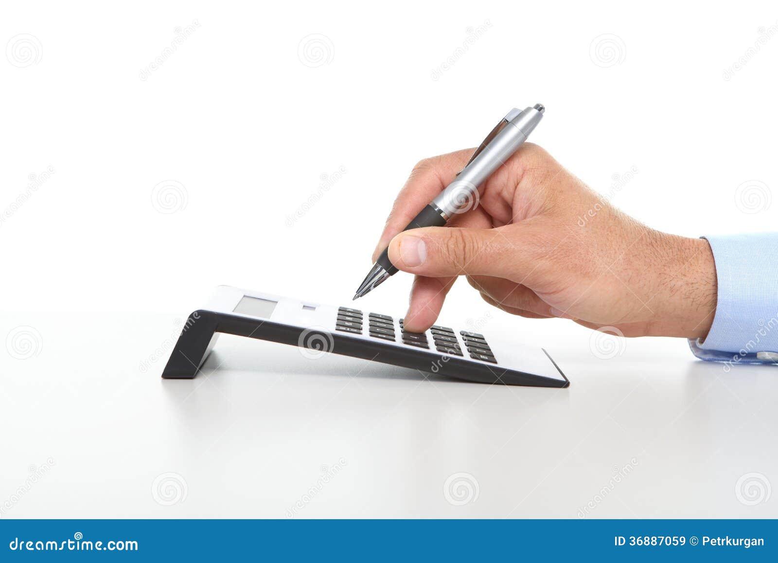 Download L'uomo D'affari Ed Il Calcolatore Immagine Stock - Immagine di portatile, calcolatore: 36887059