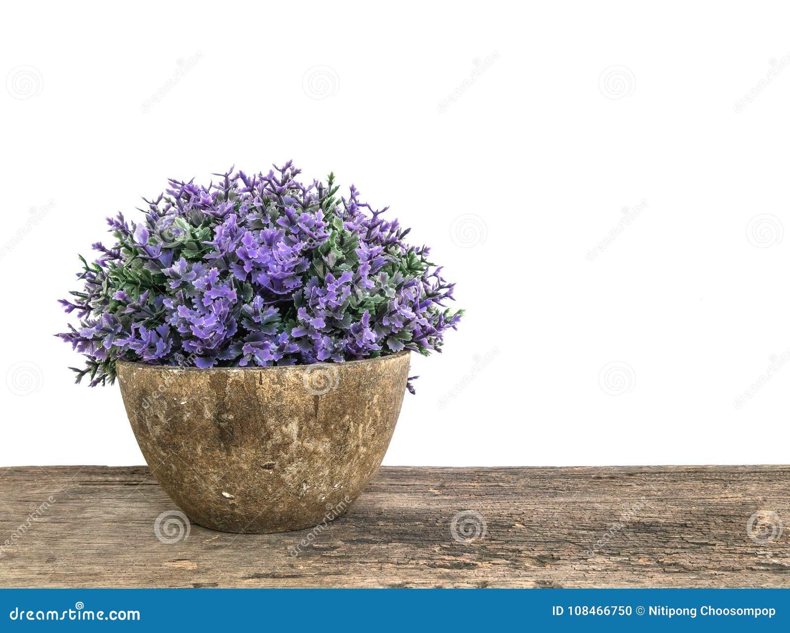 Lusine artificielle de plan rapproché dans le pot pour décorent sur