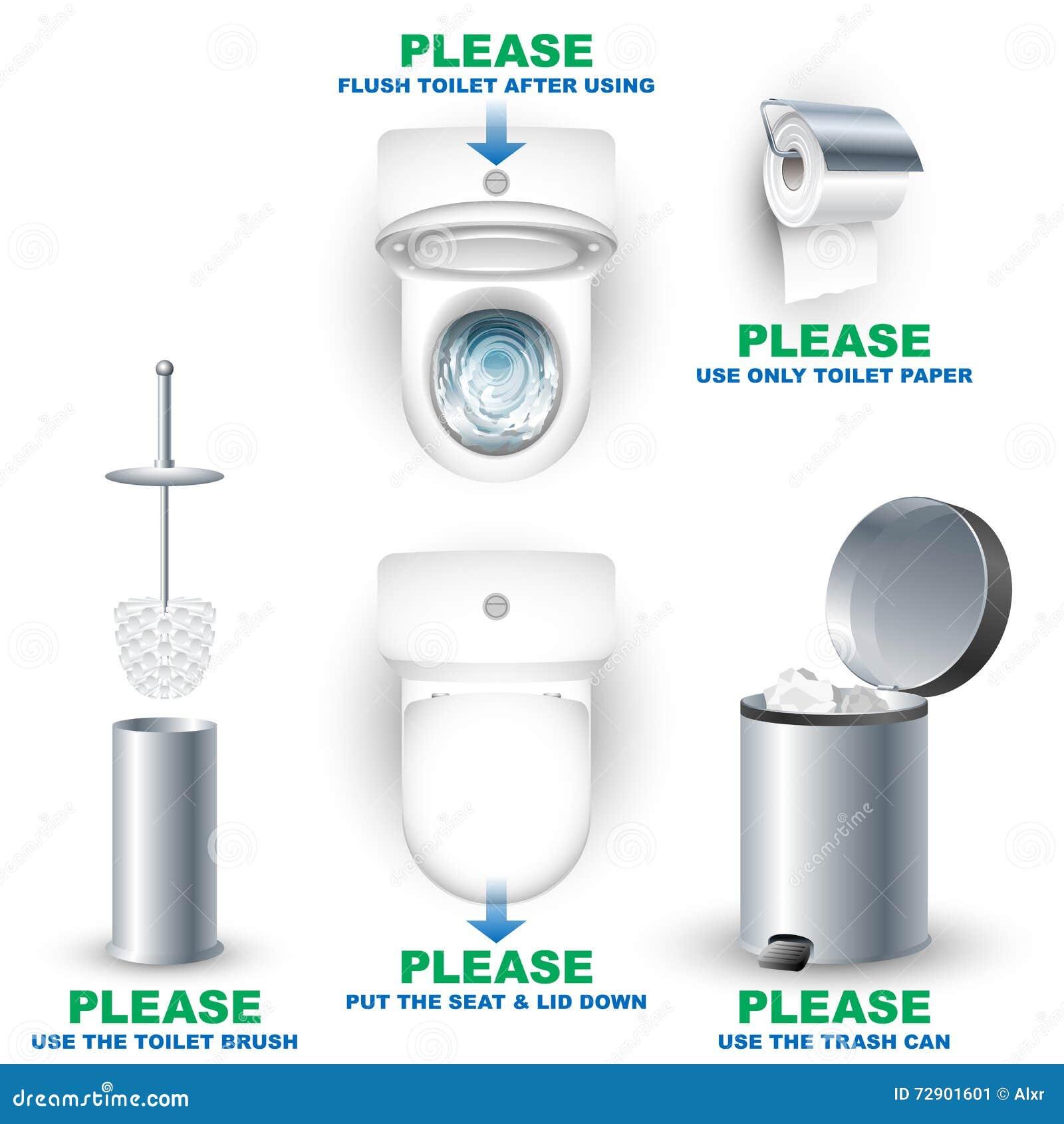 L Utilisation De R Gles De Salle De Bains De Cabinet De Toilette