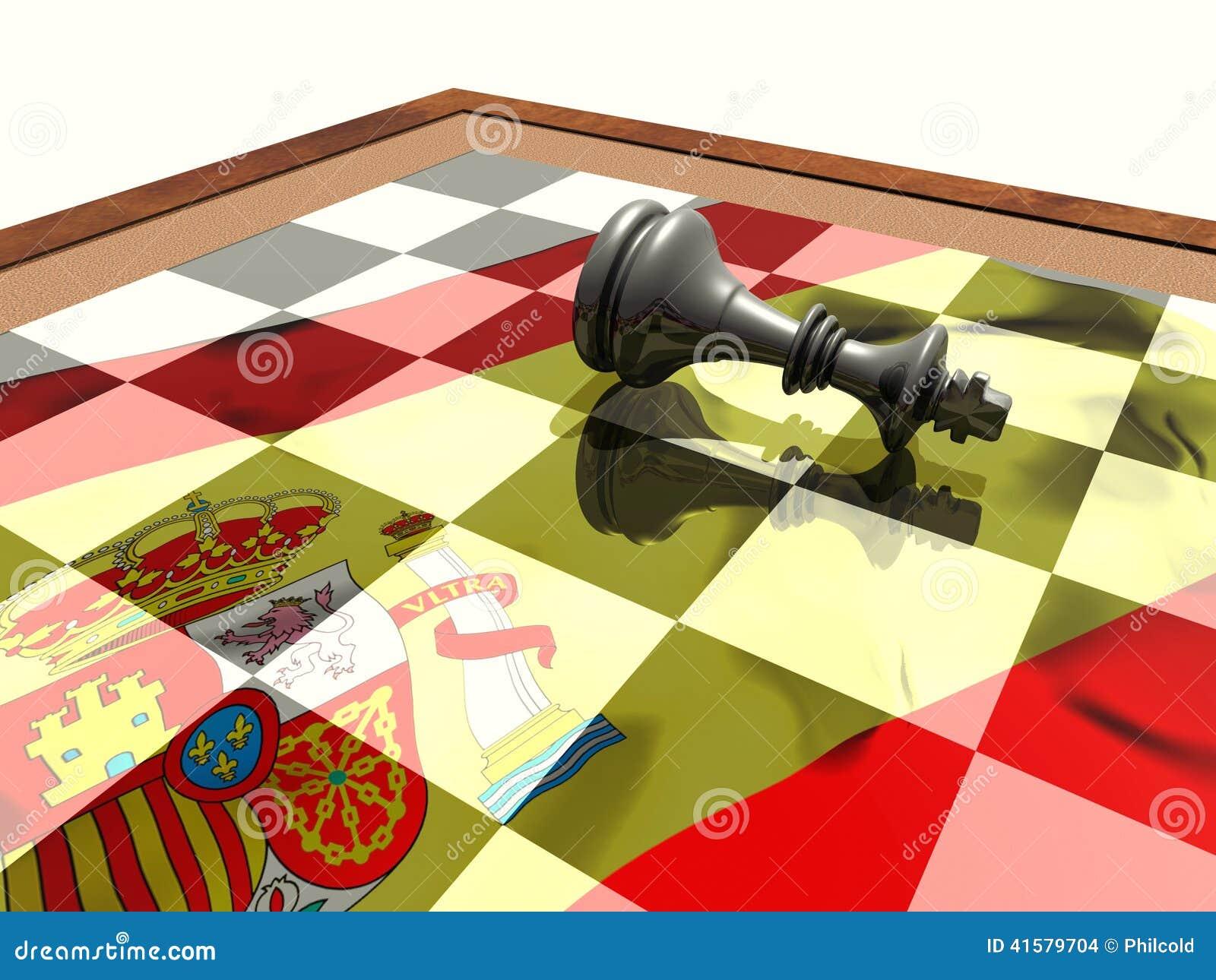 La abdicación del rey español