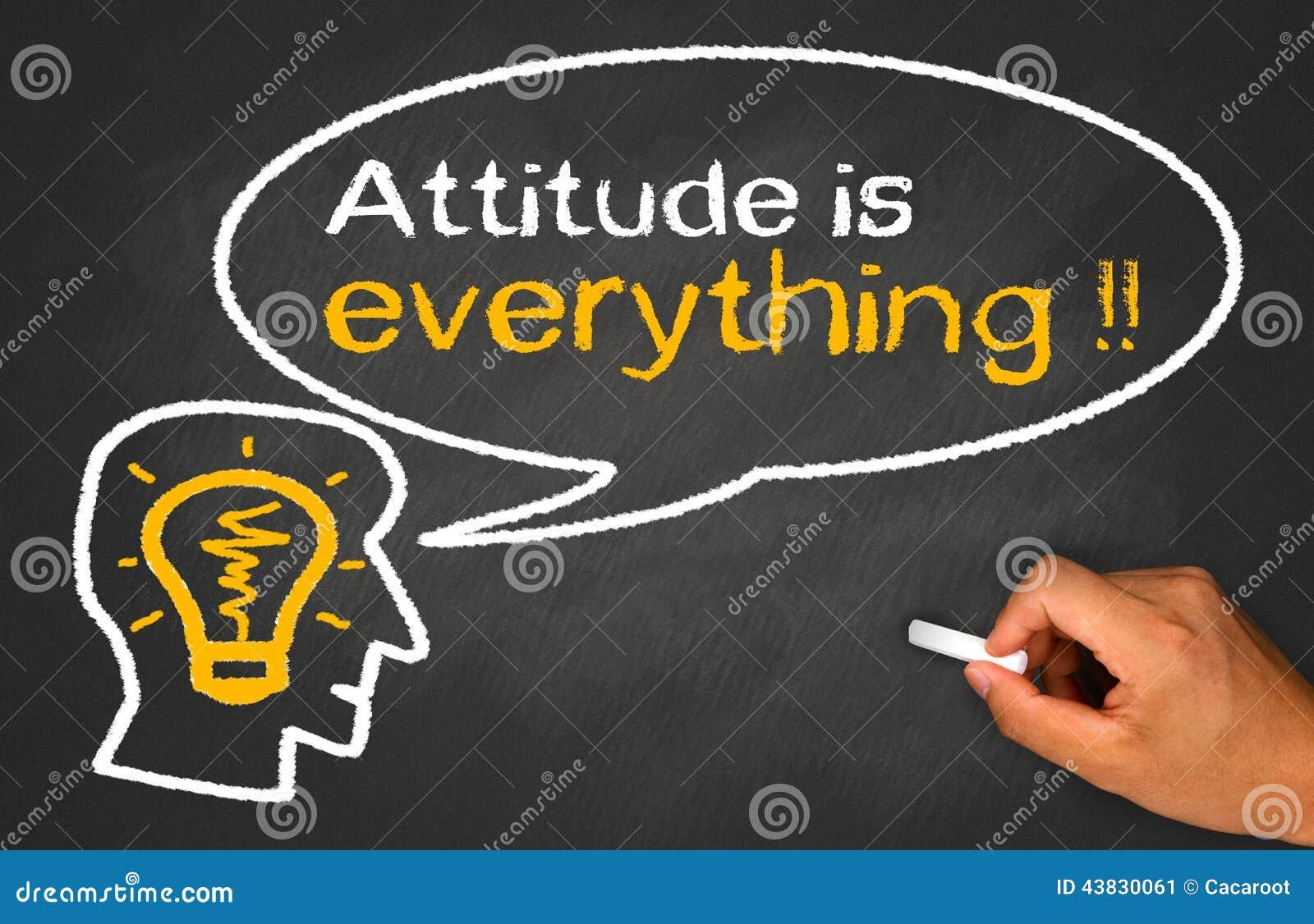 La actitud es todo