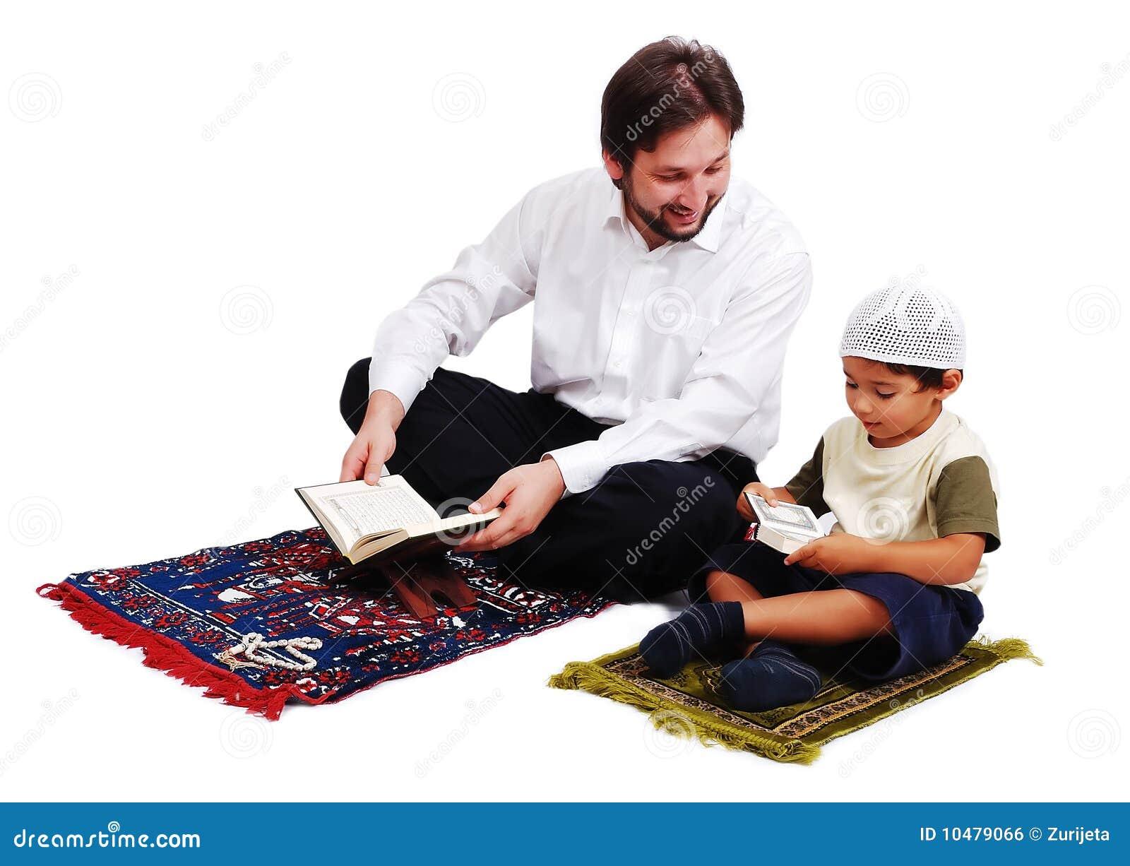 La adoración de los musulmanes es activites en el mes santo de Ramadan