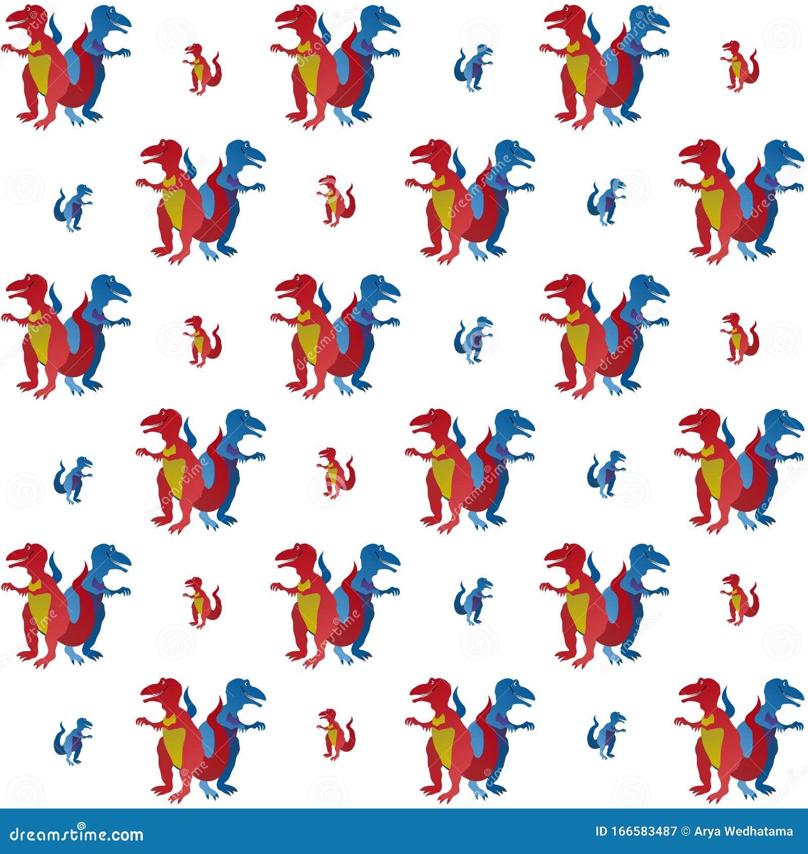 La Asombrosa Ilustracion De Dinosaurios Rojos Y Azules Personaje Gracioso De Caricatura En El Fondo Colorido Fondos De Pantalla Stock De Ilustracion Ilustracion De Asombrosa Caricatura 166583487 Tampoco hay posibilidad de obtener verdaderos colores metálicos. dinosaurios rojos
