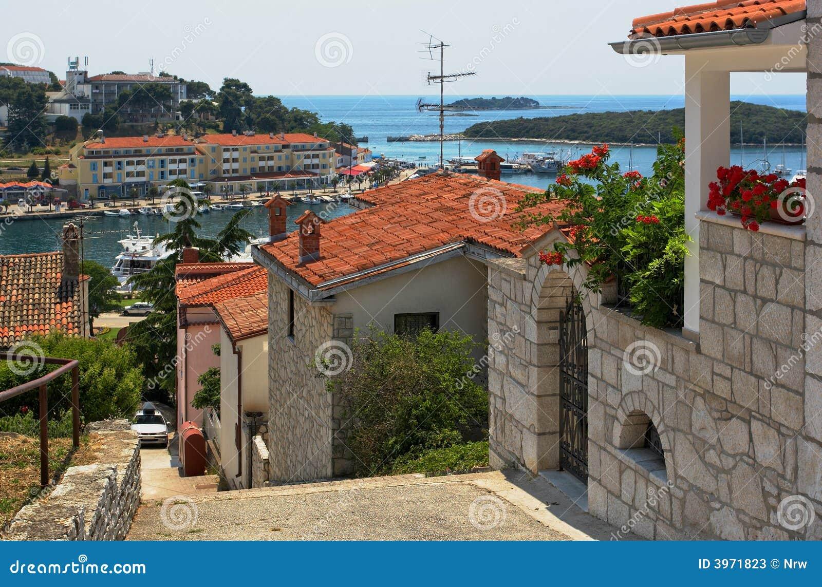 La bahía. Vrsar, Croatia