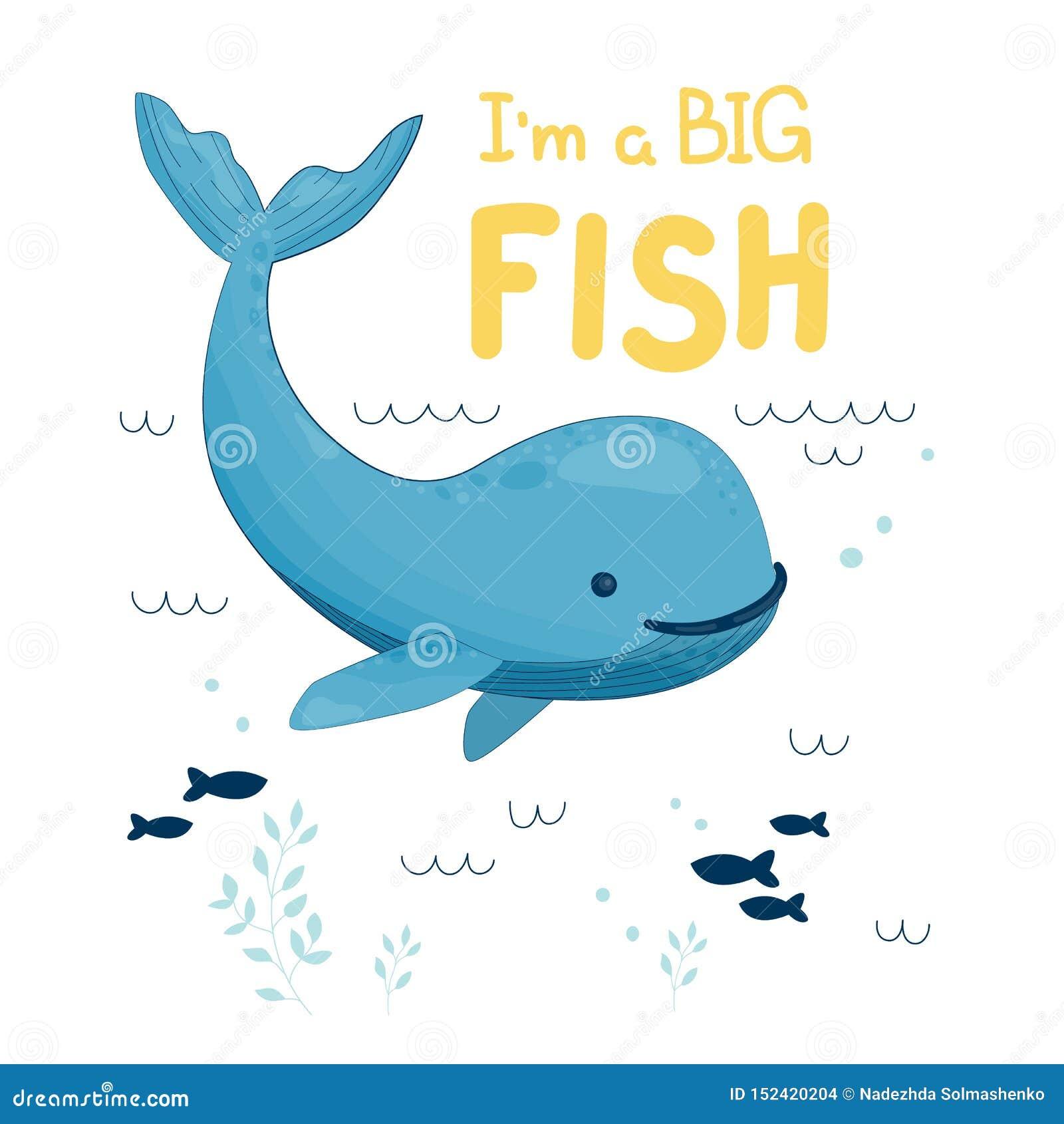 La balena i sono un grande pesce