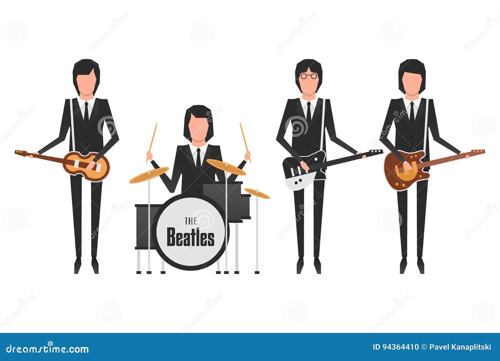 La banda de Beatles