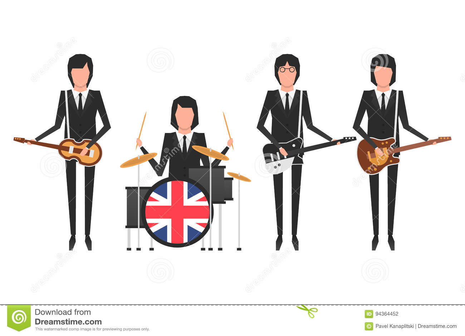 La banda di Beatles